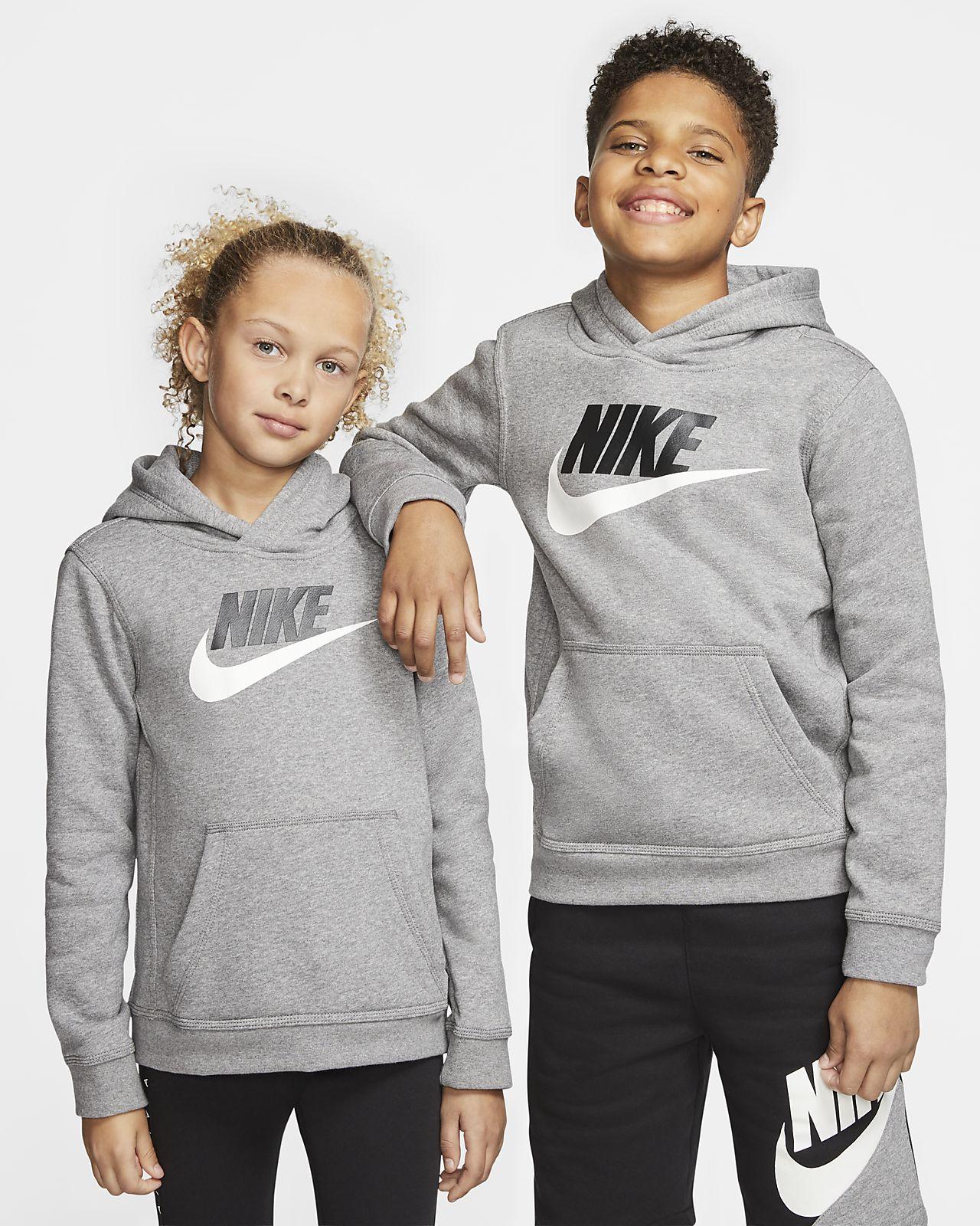 Huvtröja Nike Sportswear Club Fleece för ungdom