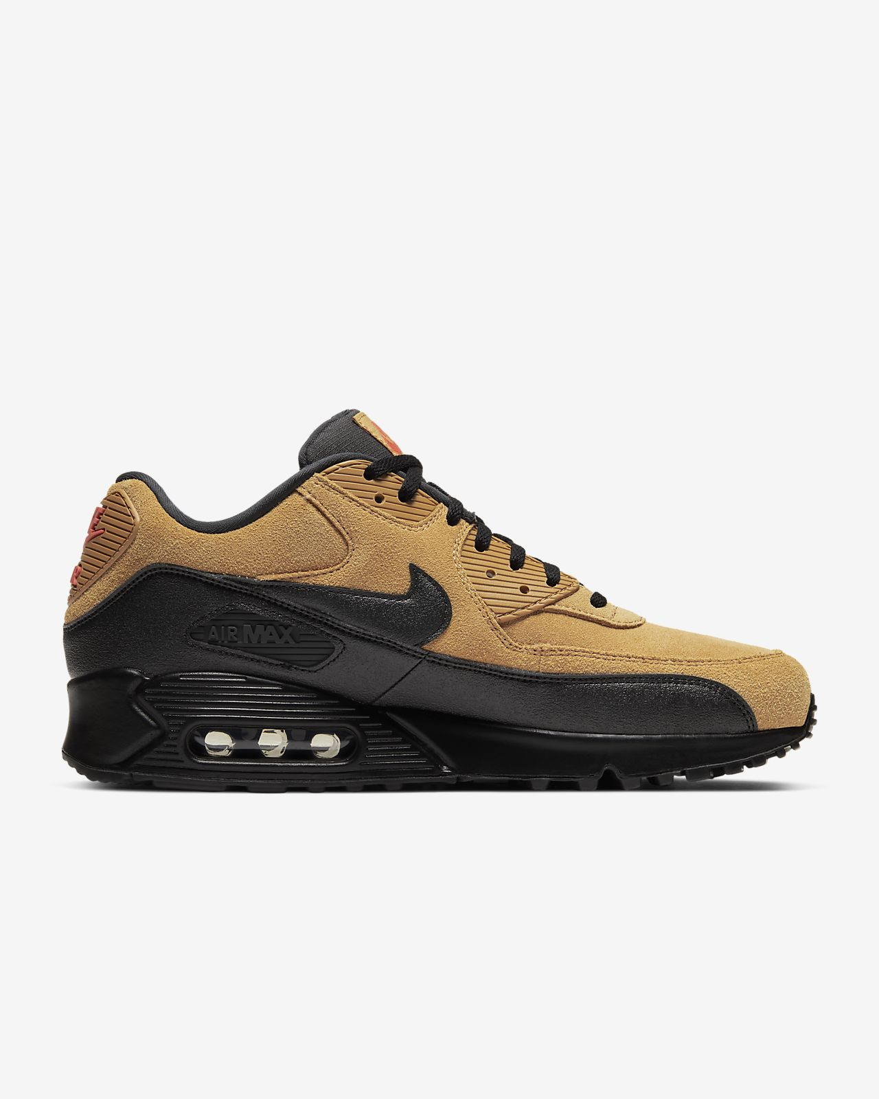 Nike Air Max 90 Essential Men's Textile upper with suede