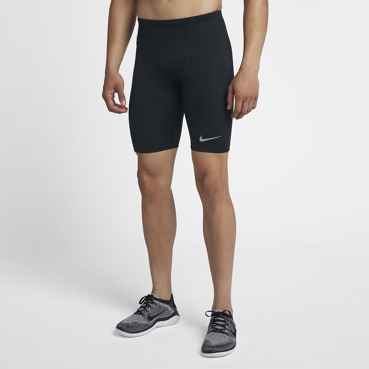 Nike-løbetights i halv længde til mænd