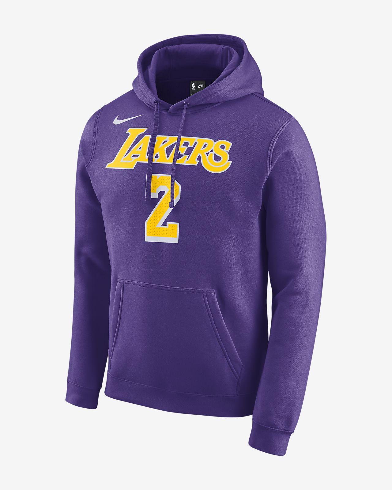 洛杉矶湖人队 (Lonzo Ball) Nike 男子 NBA 连帽衫
