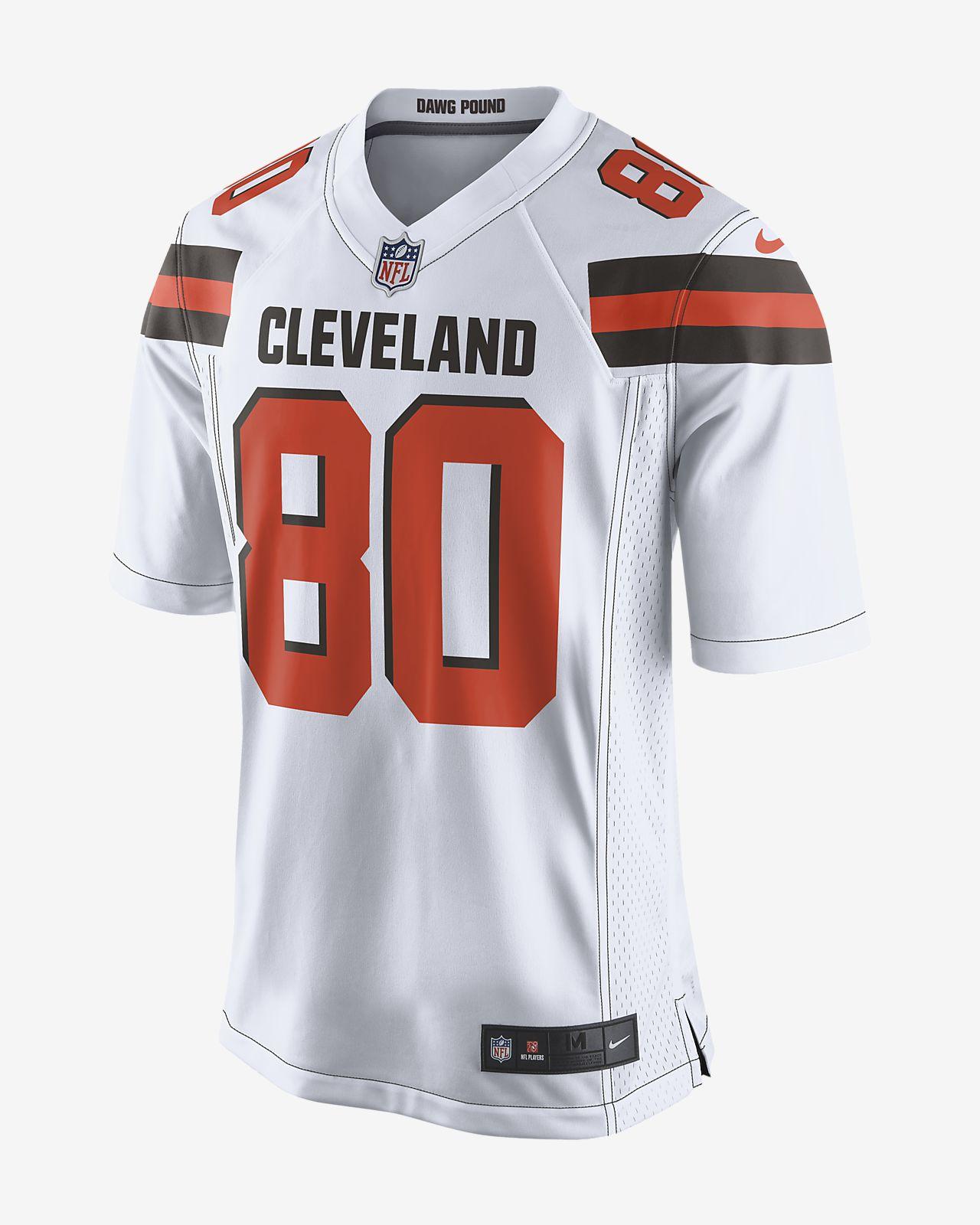 NFL Cleveland Browns (Jarvis Landry) Men's Game Football Jersey