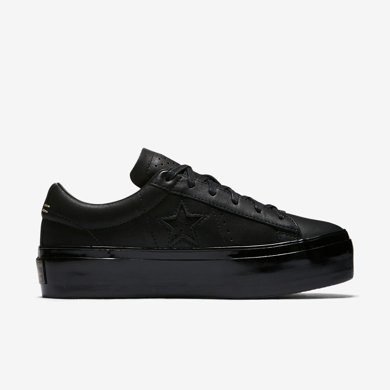 One Star platform sneakers - Black Converse IdeW1FnXE