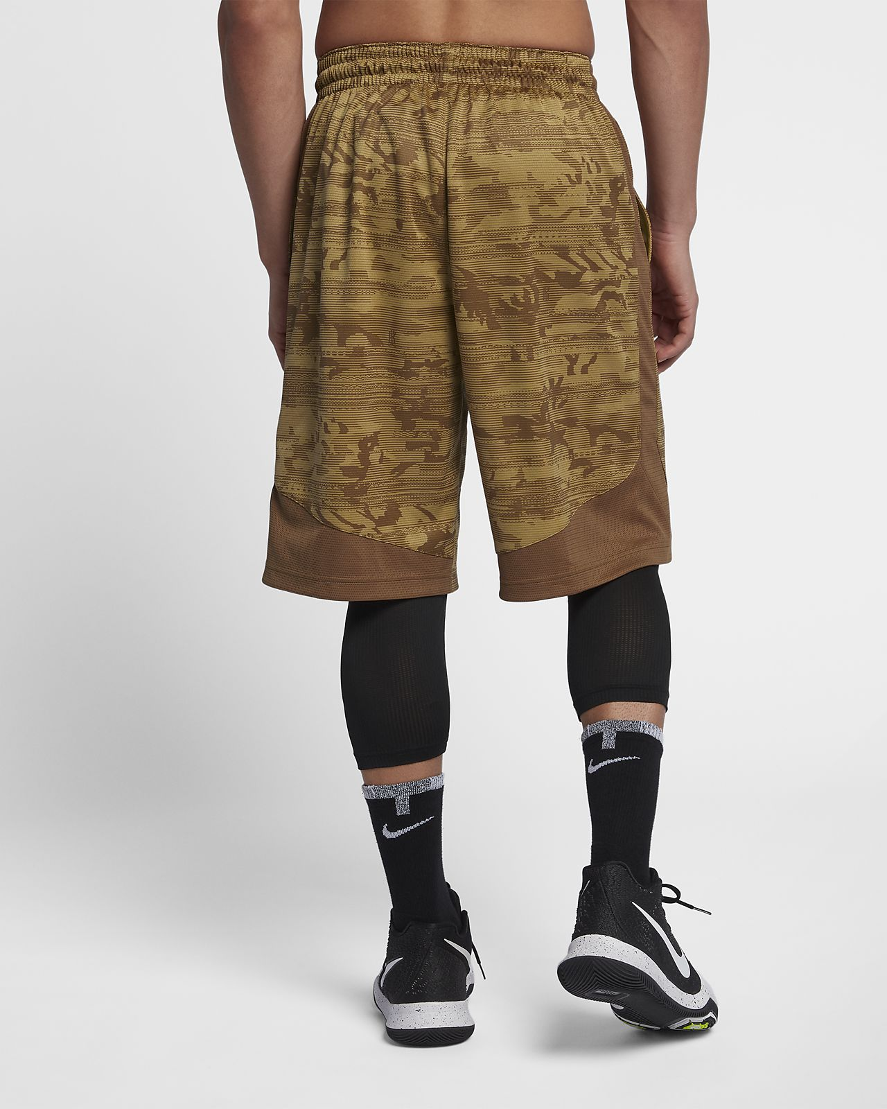 861907ce038d Nike Dri-FIT Elite Kyrie Mens Printed 11.5