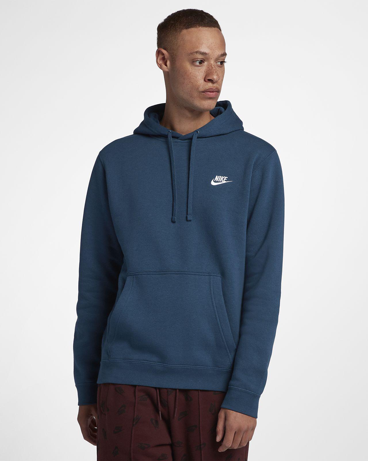 nike sportswear club fleece men s hoodie nike com