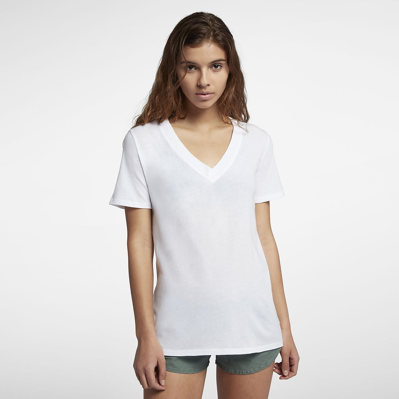Hurley perfect women 39 s v neck t shirt for Womens v neck t shirts