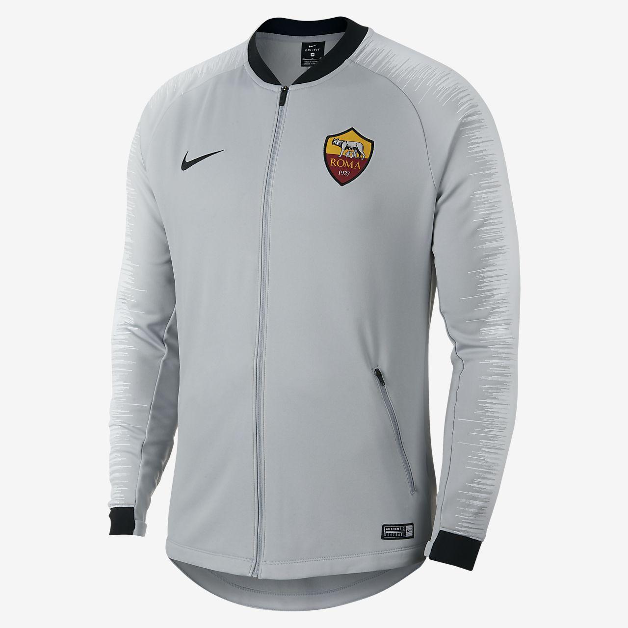 255534562aed6 A.S. Roma Anthem Chaqueta de fútbol - Hombre. Nike.com ES