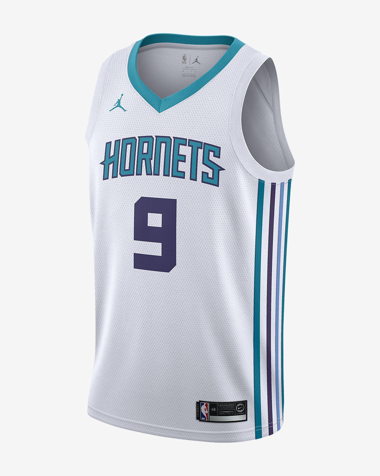 Maillot connecté Jordan NBA Association Edition Swingman (Charlotte Hornets) pour Homme