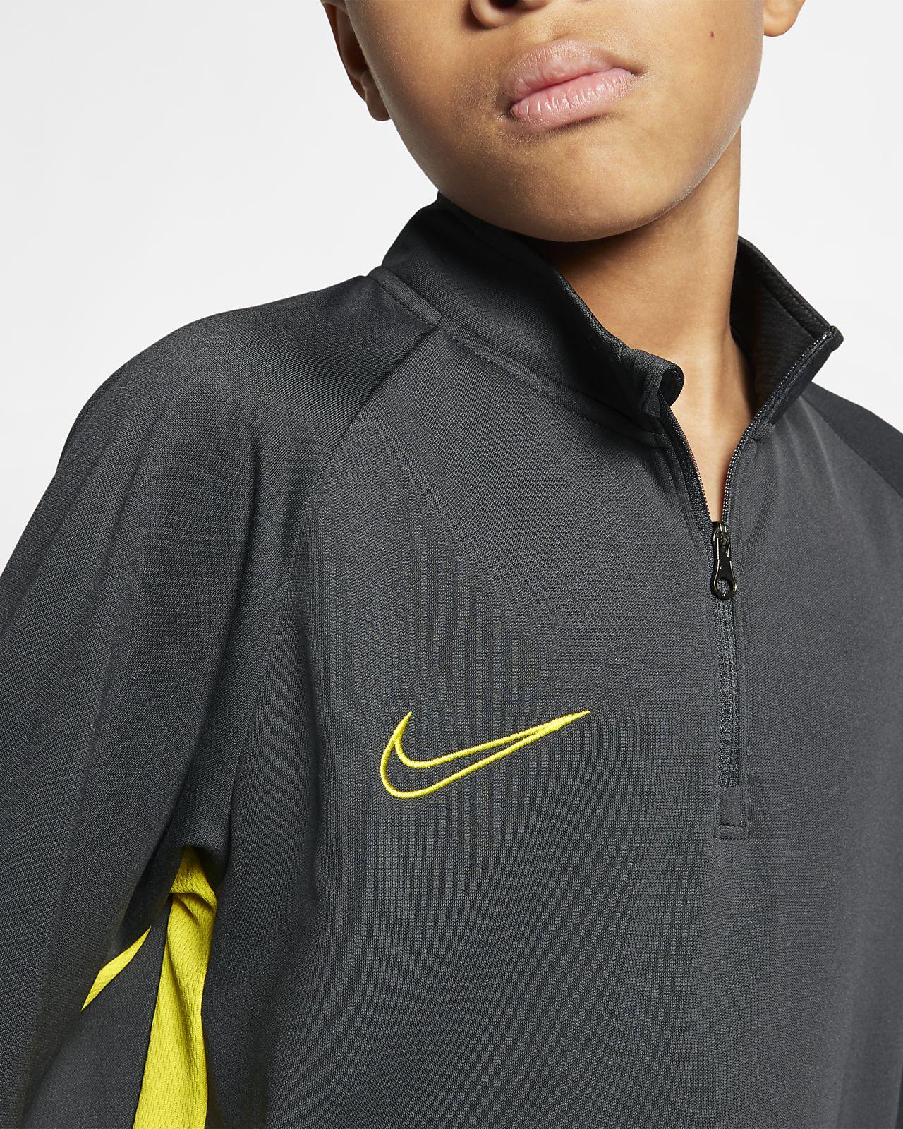 e5a9a9ca3 Nike Dri-FIT Academy Older Kids' Football Drill Top. Nike.com SE