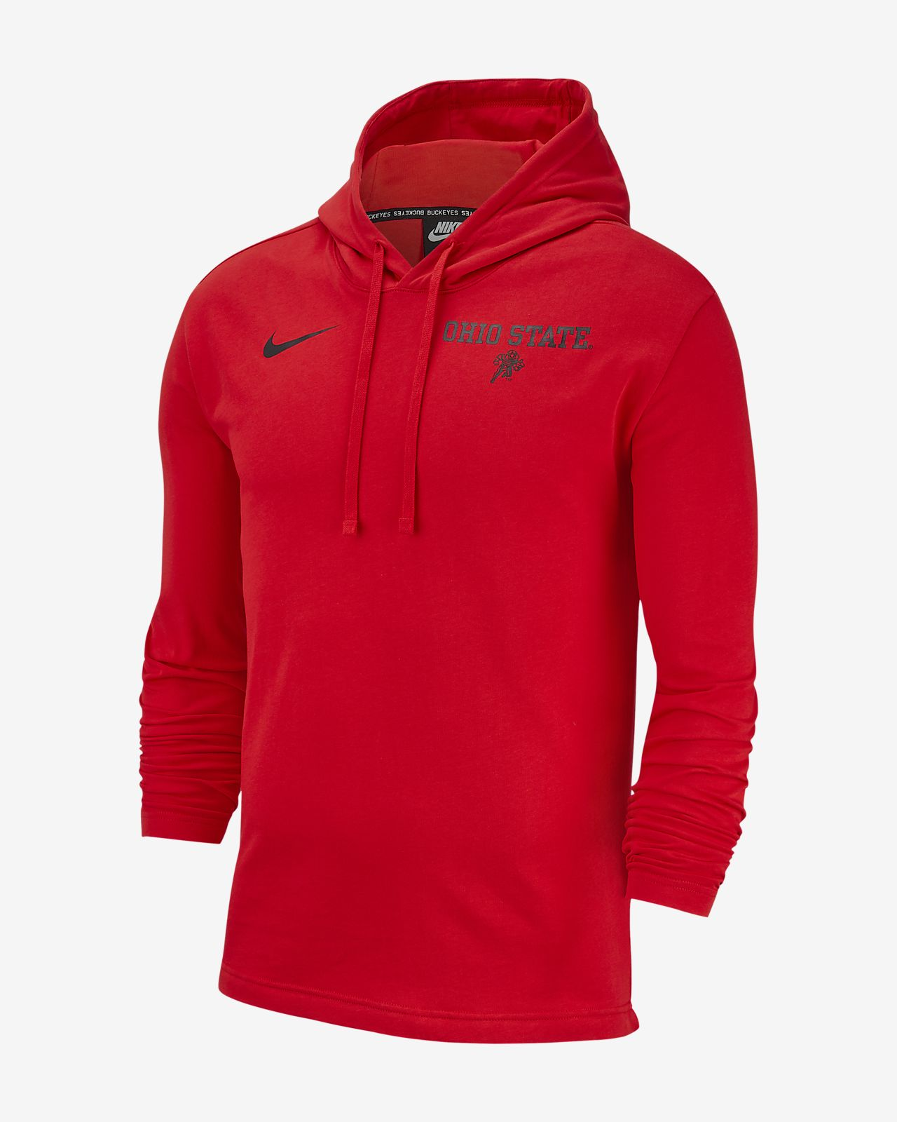 5b27f123d64 Nike College (Ohio State) Men's Pullover Hoodie. Nike.com