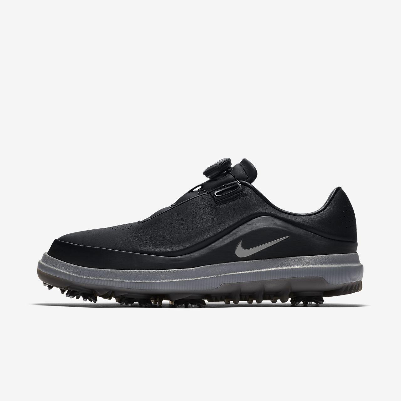 AIR ZOOM PRECISION - Golfschuh - black/cool grey/metallic silver u2WfuK
