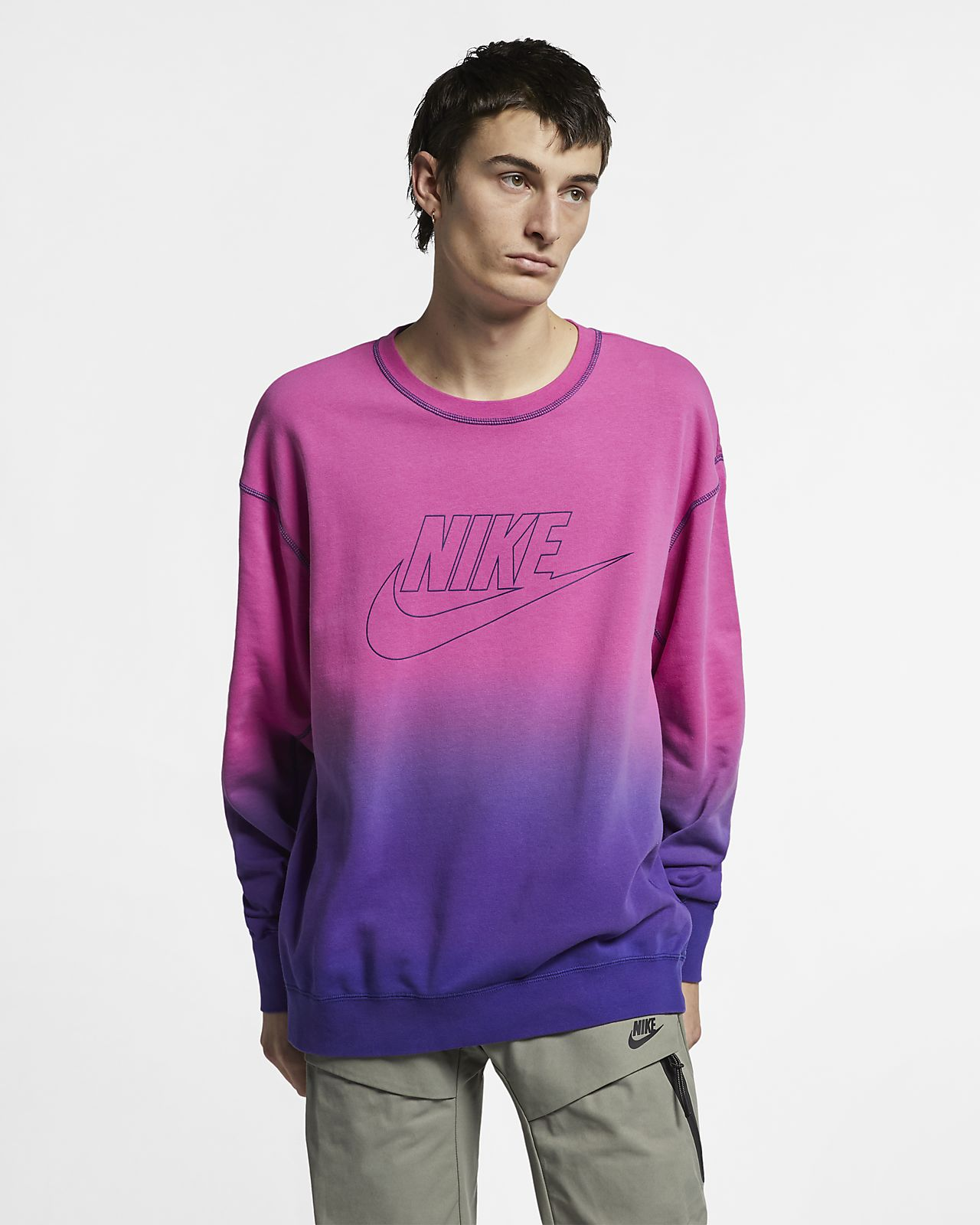 492a4969 Nike Sportswear Men's French Terry Crew. Nike.com