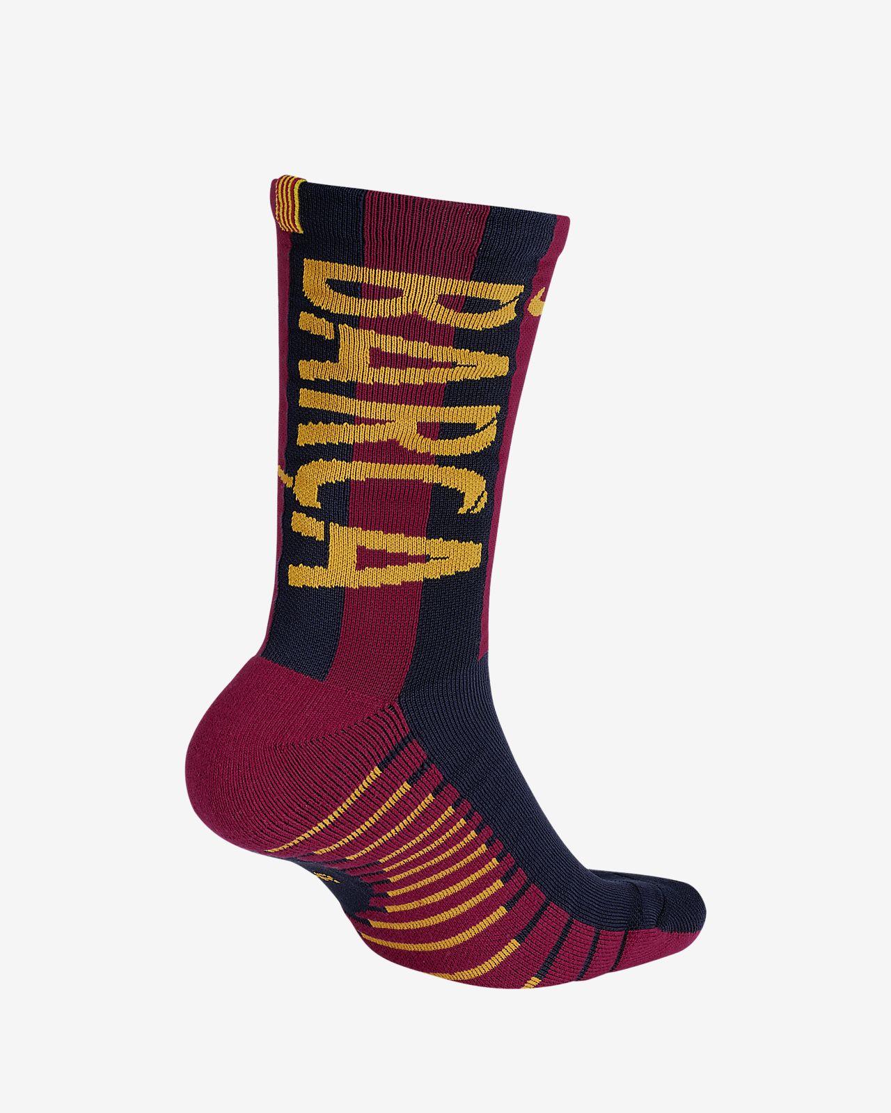 Calcetines de fútbol 2018 19 FC Barcelona Crew. Nike.com PR 9cc07af32ef