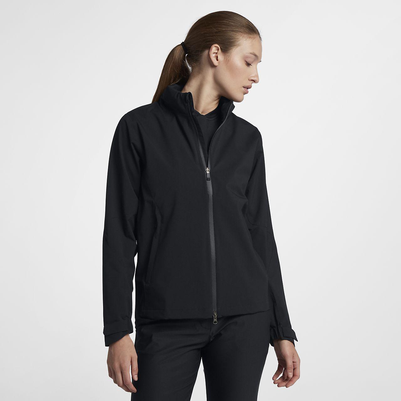 Chamarra de golf de cierre completo para mujer Nike HyperShield