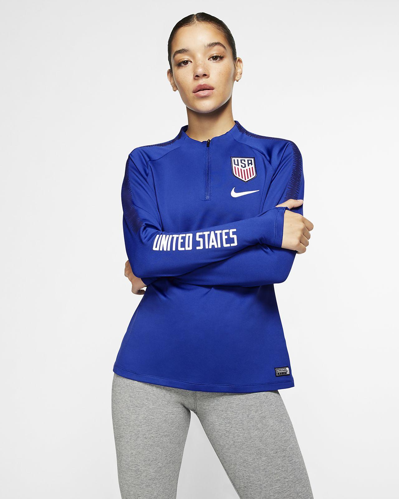 61f176c557e Nike Dri-FIT U.S. Squad Women's Soccer Drill Top. Nike.com
