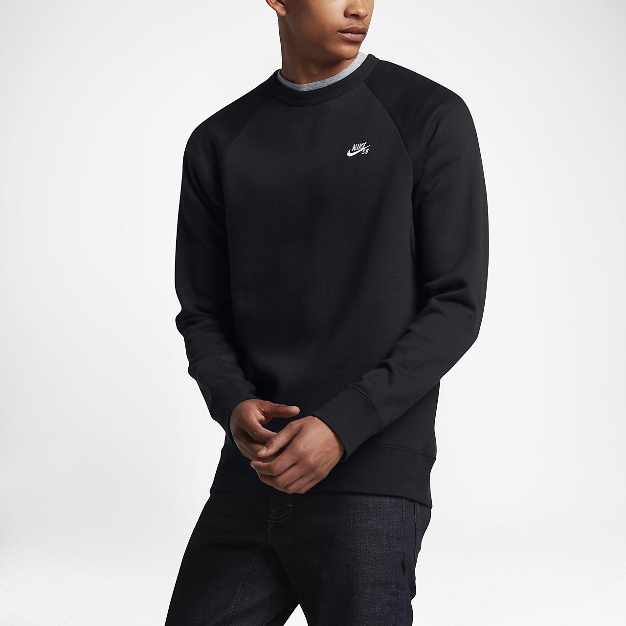 เสื้อคอกลมผ้าฟลีซผู้ชาย Nike SB Icon