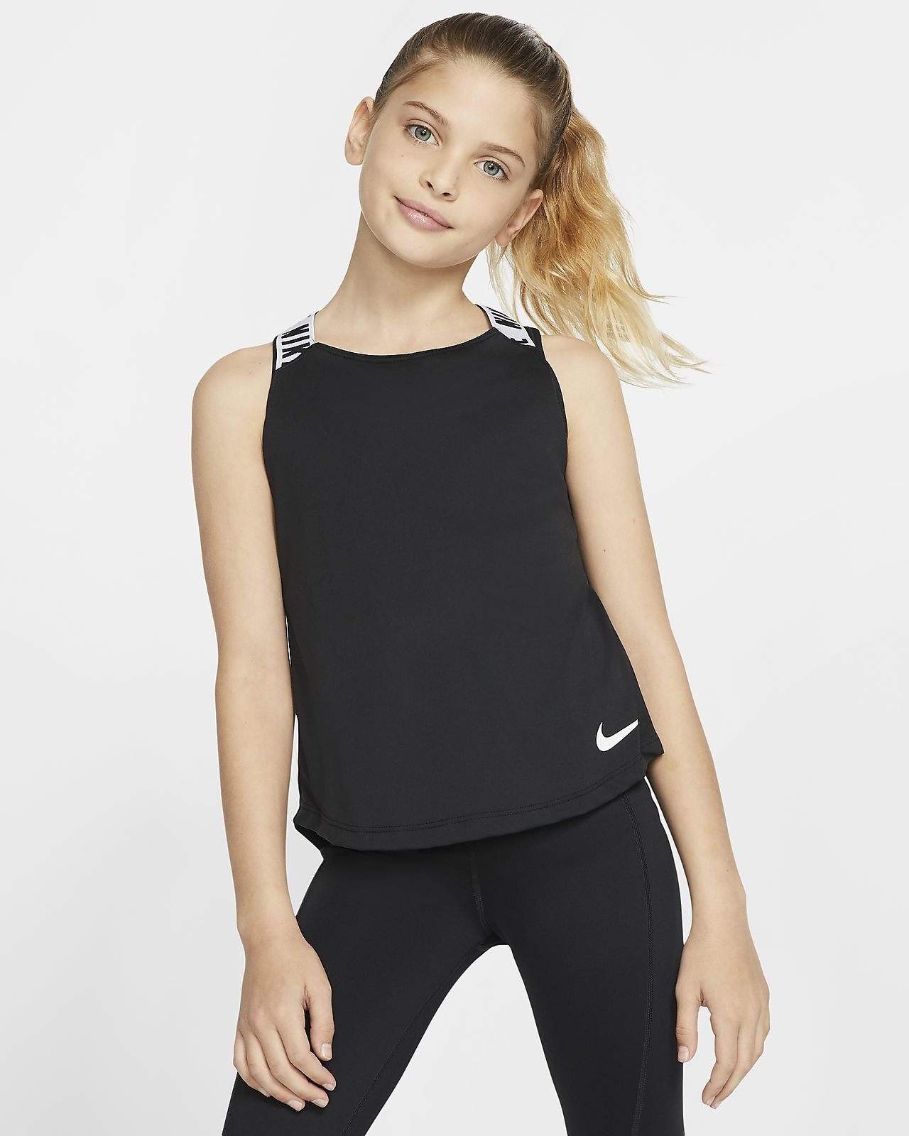 Nike Dri-FIT Big Kids' (Girls') Training Tank