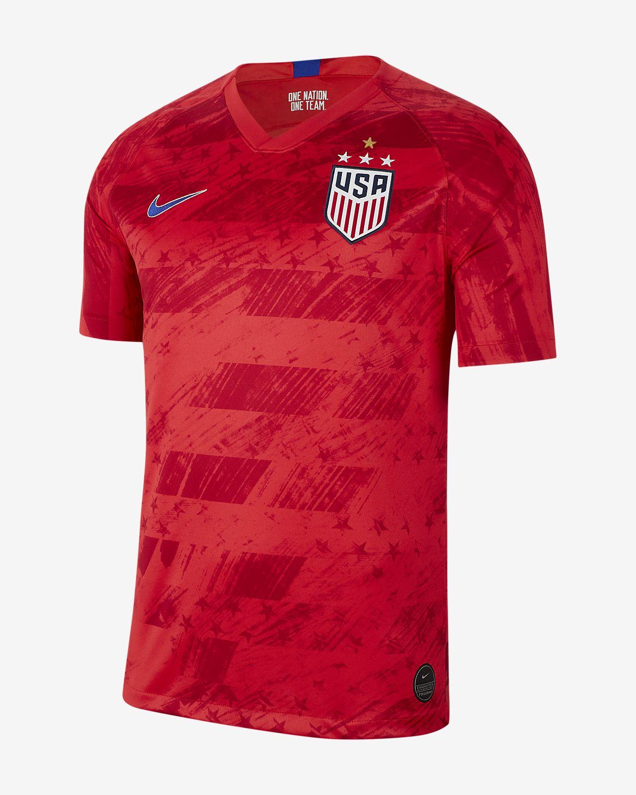U.S. 2019 Stadium Away (4-Star) Men's Soccer Jersey