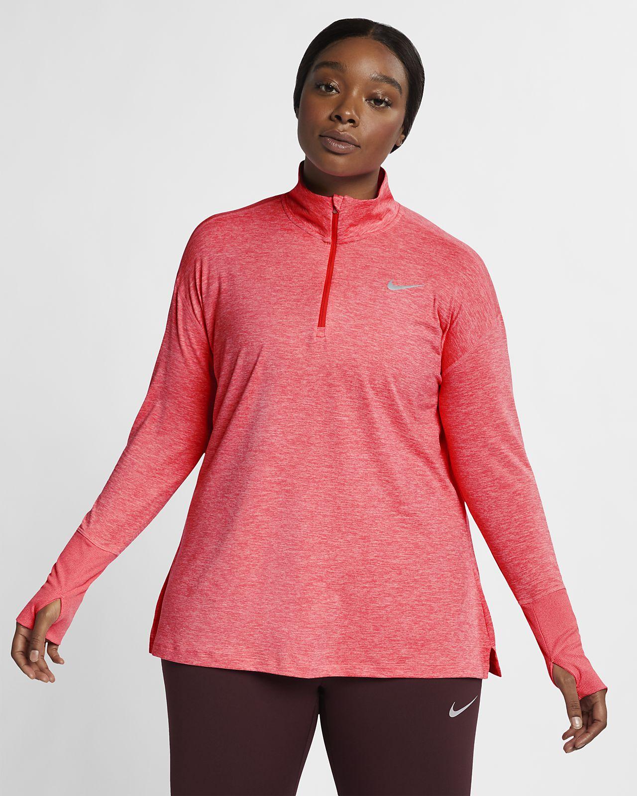 dc55c991d28 Nike Element (Plus Size) Women s Half-Zip Running Top. Nike.com