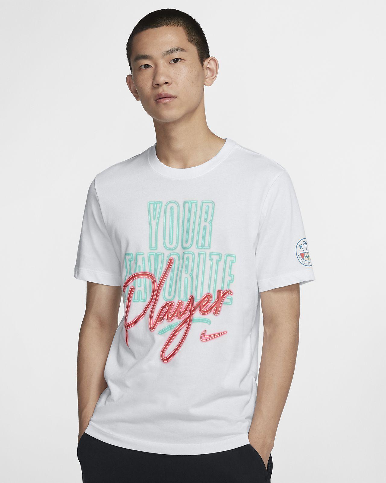 """Nike Dri-FIT """"Coast 2 Coast"""" 男子篮球T恤"""