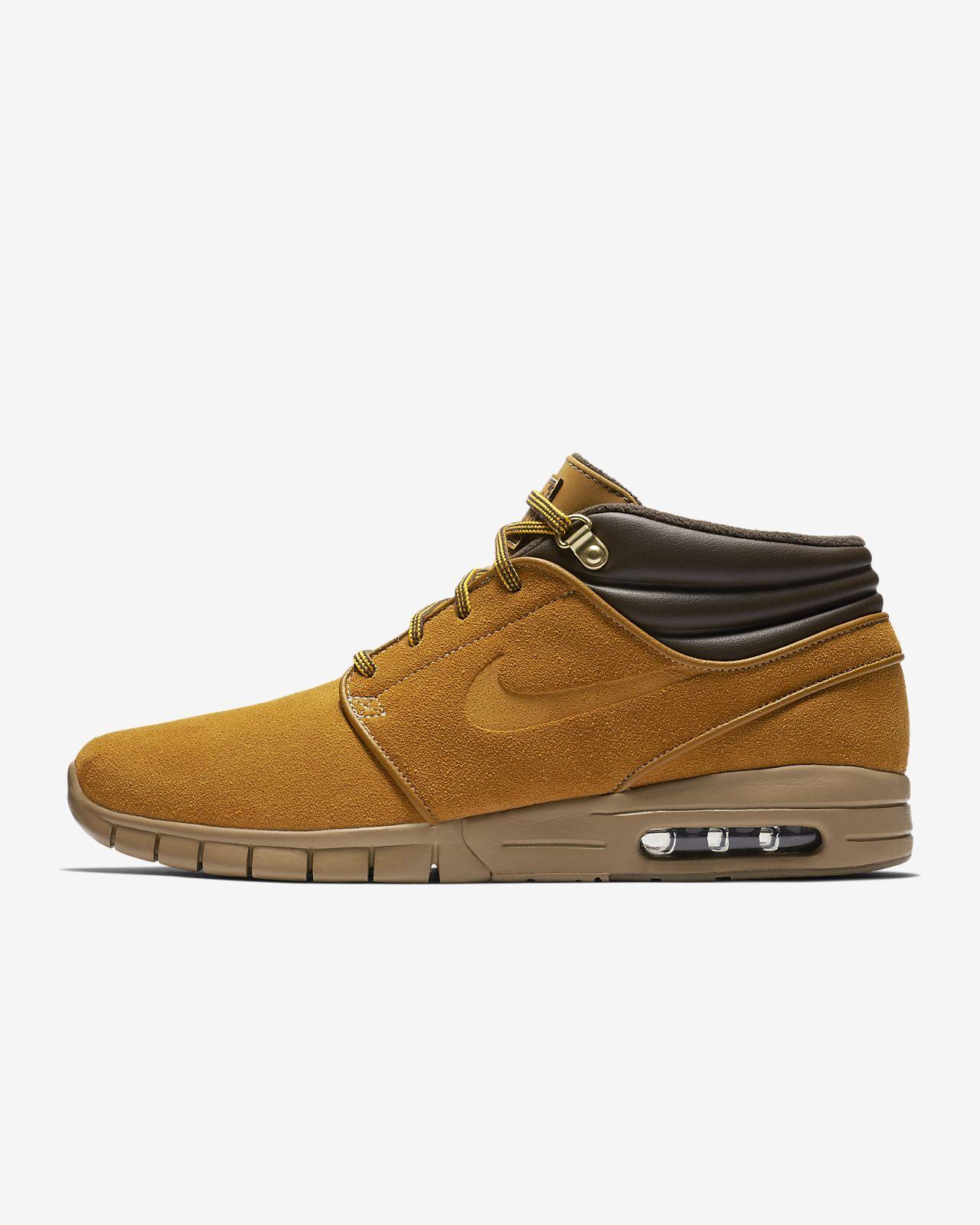 Nike SB Stefan Janoski Max Mid Premium Men s Skate Shoe. Nike.com GB b90bda3a6d6cc