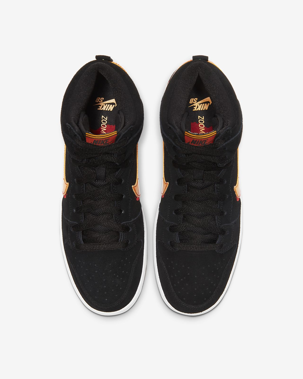 Nike SB Dunk Hi Pro 305050 029 Black Gum Light Brown Mens