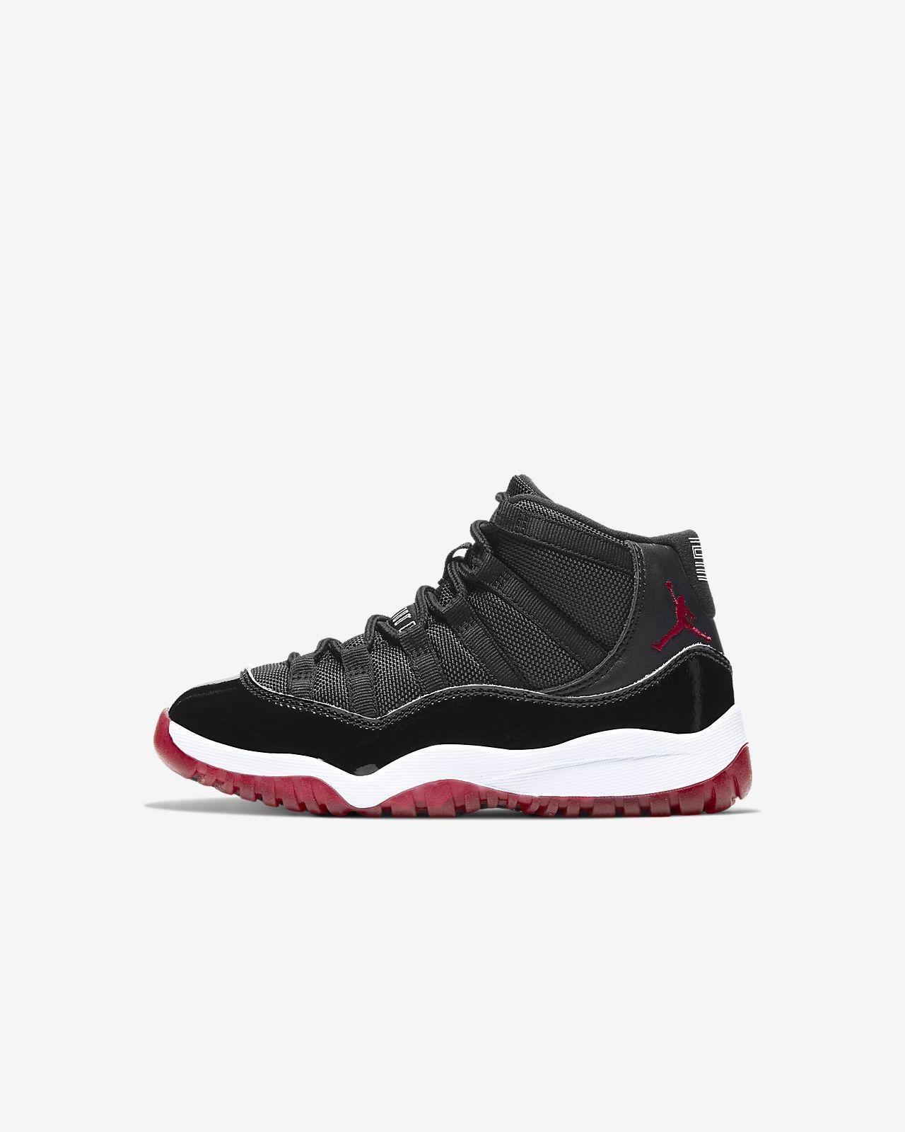 Air Jordan 11 Retro 3/4 Little Kids' Shoe