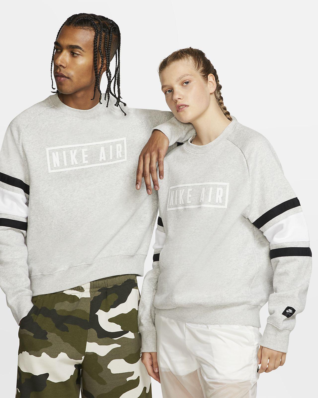 Maglia a girocollo in fleece Nike Air