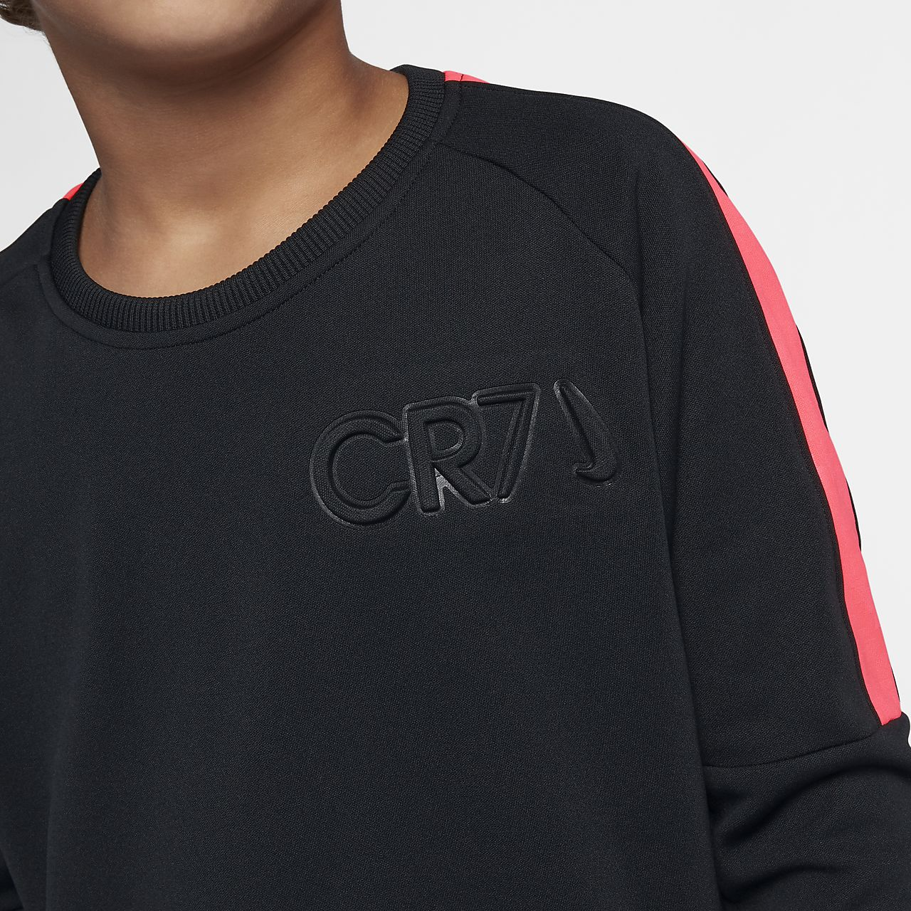afcc7688f2a Nike Dri-FIT CR7 Older Kids  (Boys ) Long-Sleeve Football Top. Nike ...