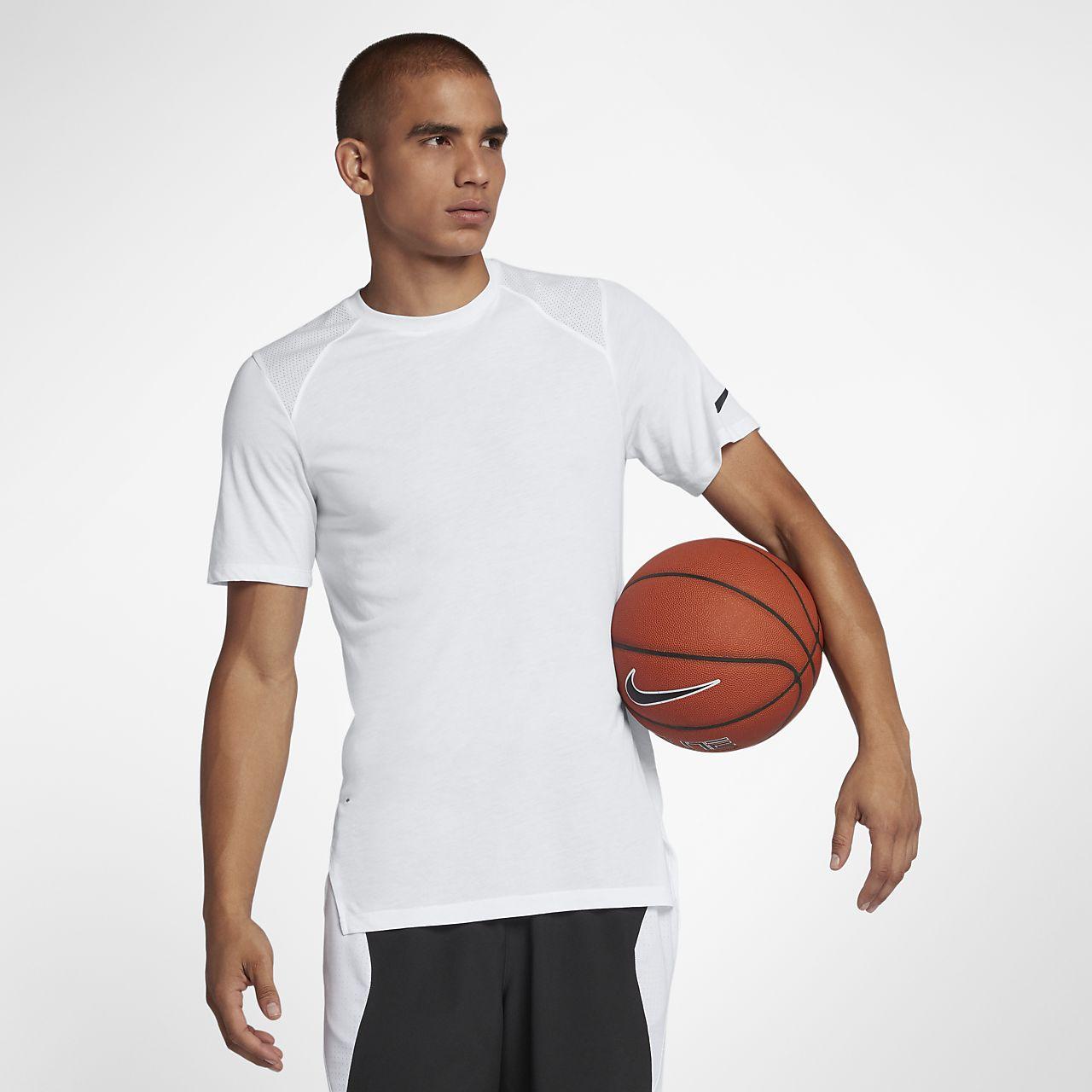 Nike Breathe Elite Men's Short-Sleeve Basketball Top