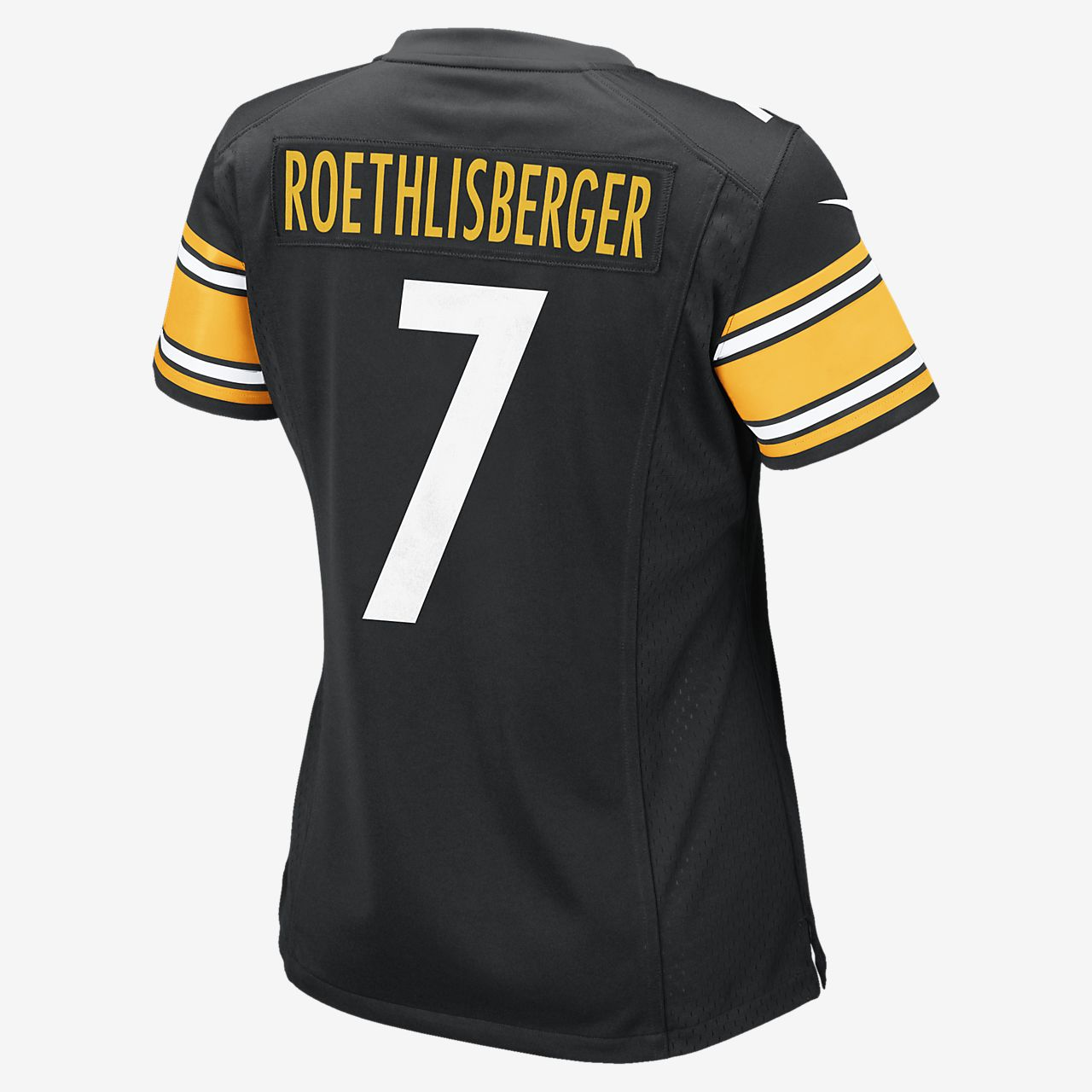 cb8bcf64f ... pullover hot nike pittsburgh steelers 7 limited strobe jerseys nfl pittsburgh  steelers ben roethlisberger womens football home ...