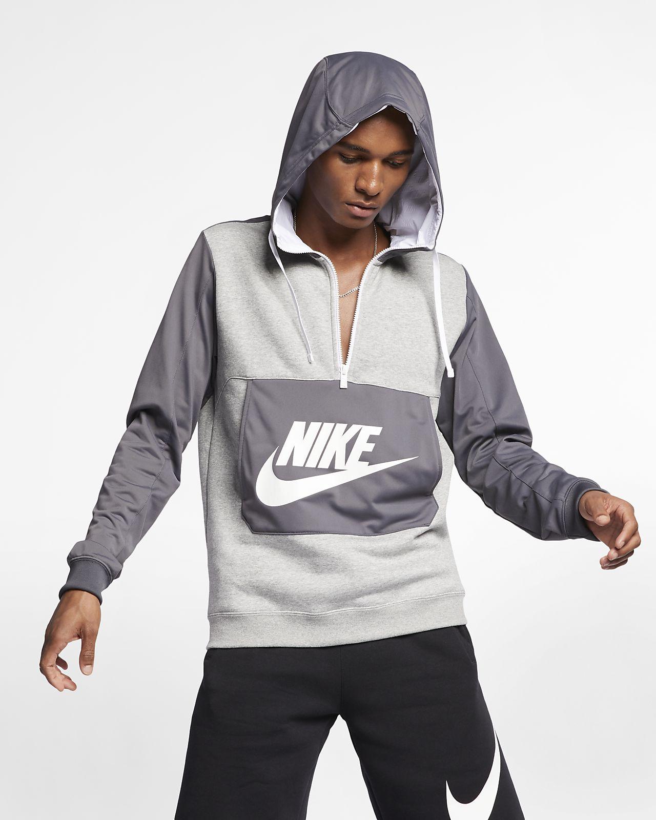 f2b24e3951de Nike Sportswear Men s 1 2-Zip Hoodie. Nike.com