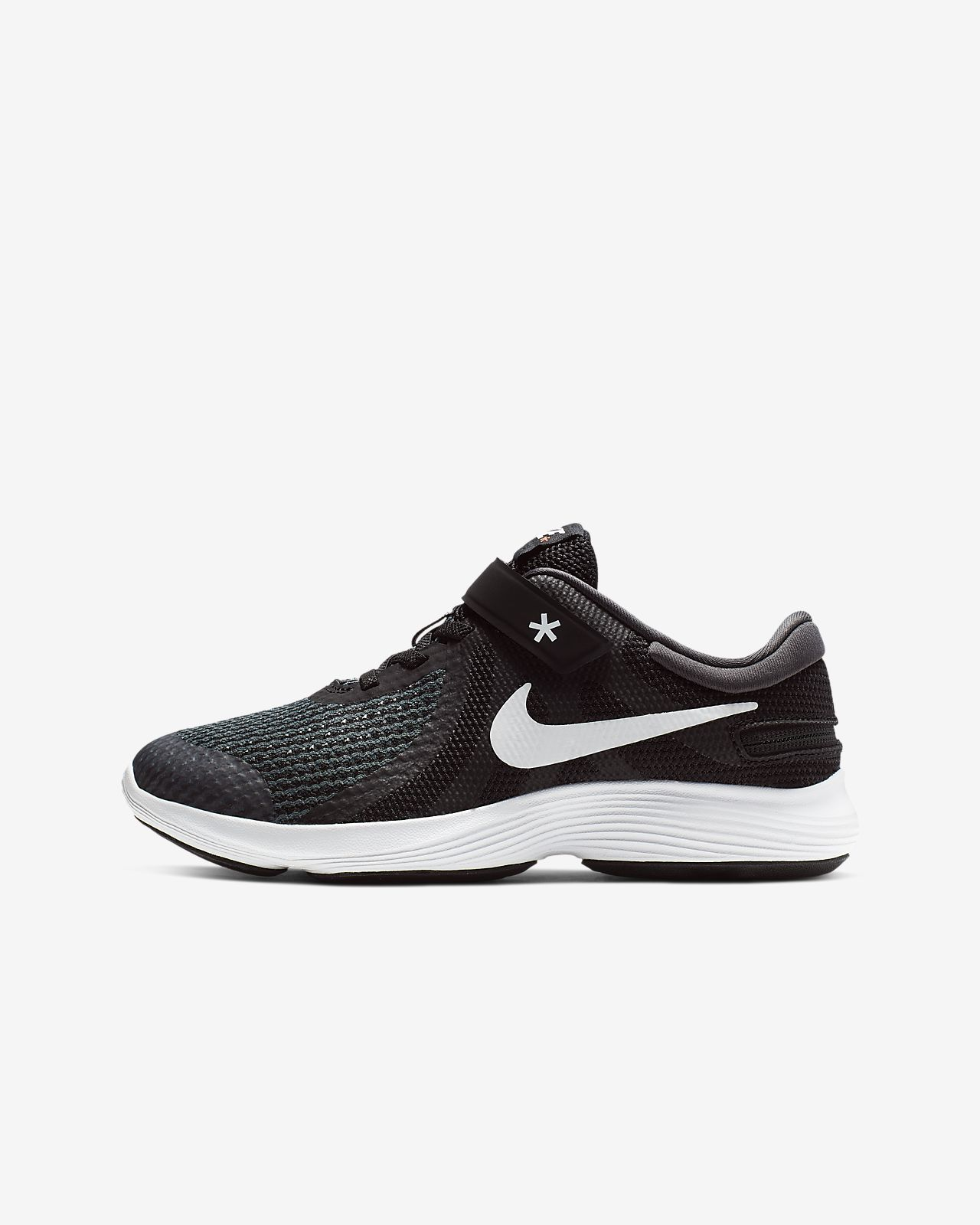 new style 587ca d97de ... Nike Revolution 4 Flyease 4E Big Kids  Running Shoe