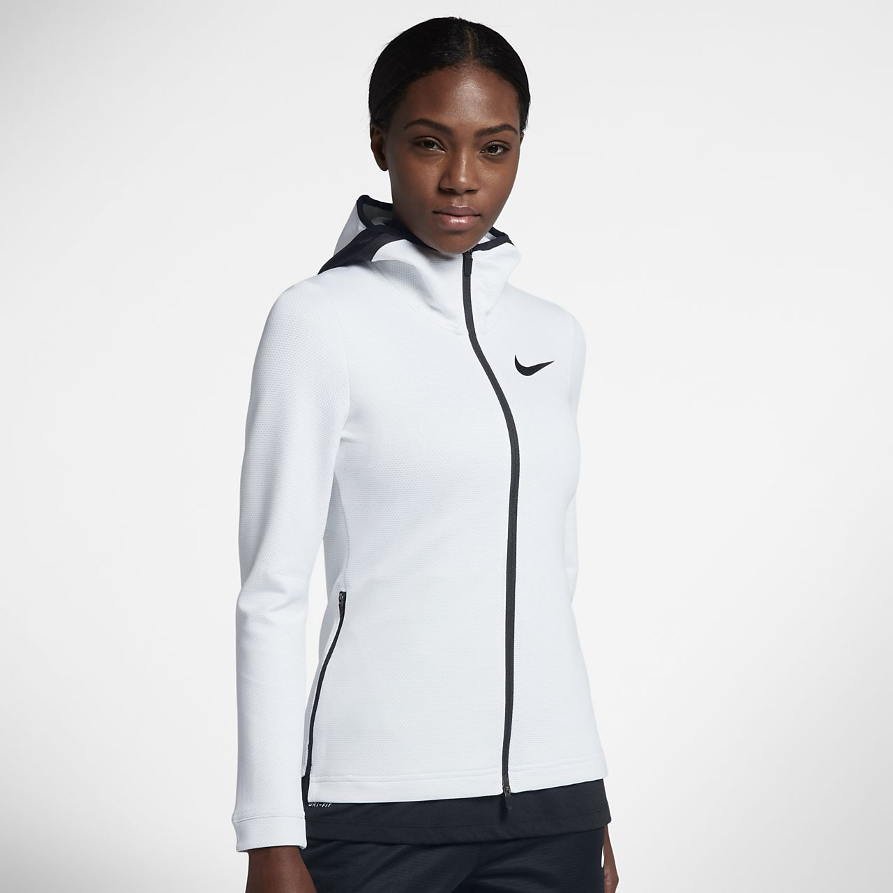 ... Nike Therma Flex Showtime Women's Basketball Full-Zip Hoodie