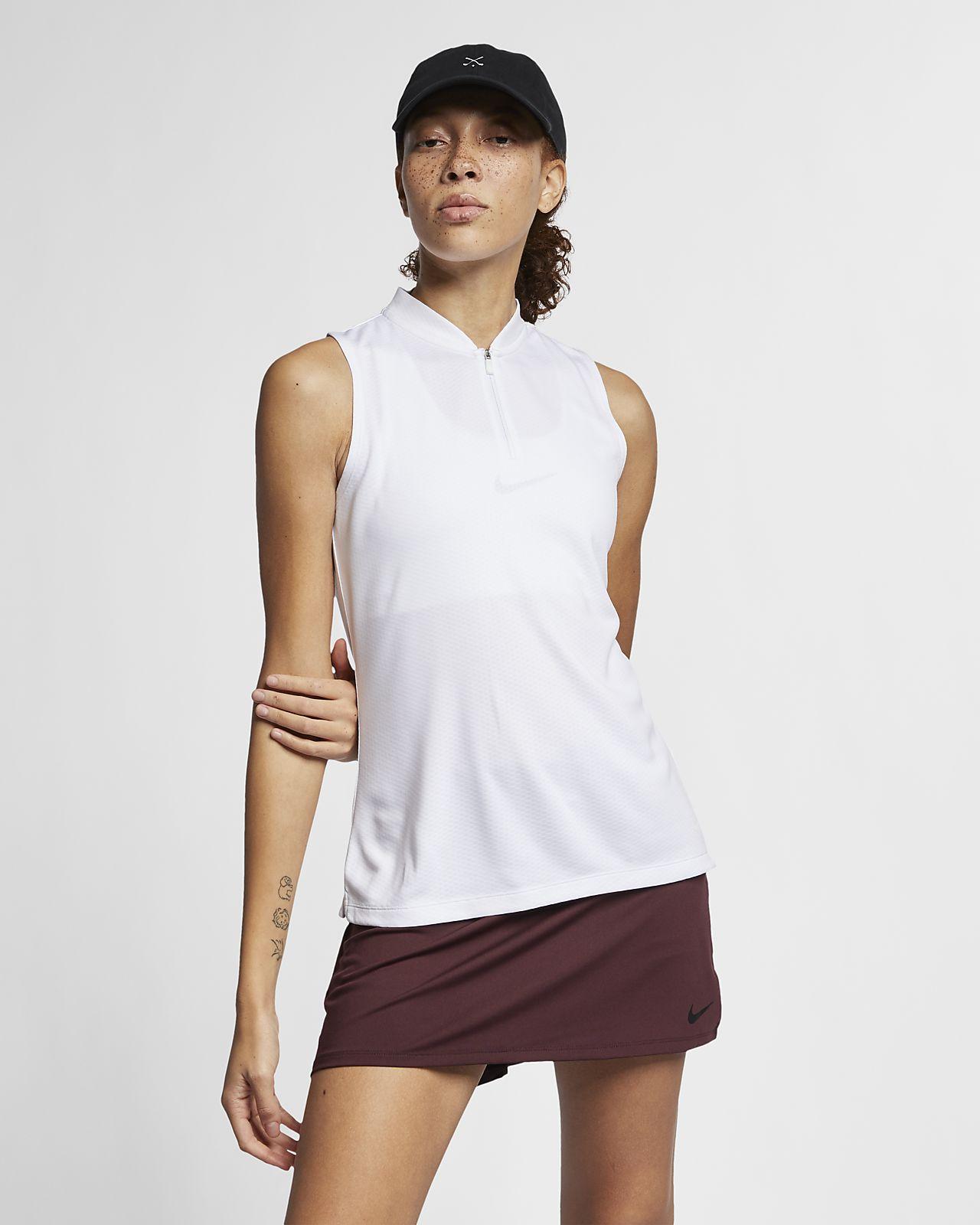 fae28e01 Nike Dri-FIT Women's Sleeveless Golf Polo. Nike.com