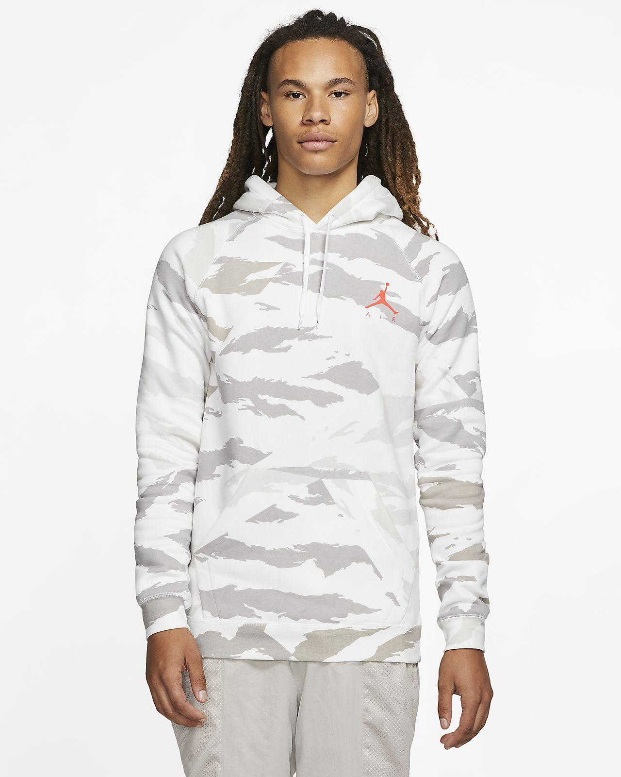 Sweat à capuche camouflage en tissu Fleece Jordan Jumpman pour Homme