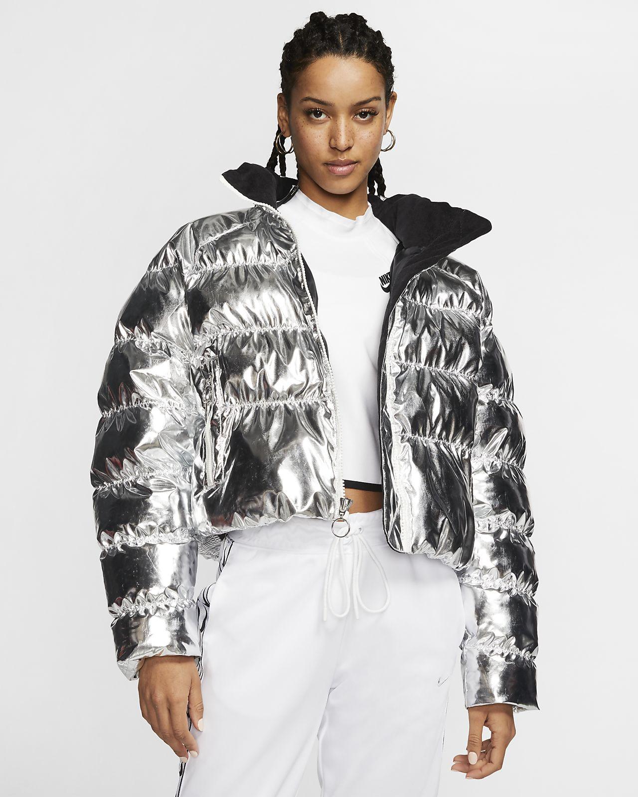 Nike x Olivia Kim Foil Puffer Jacket