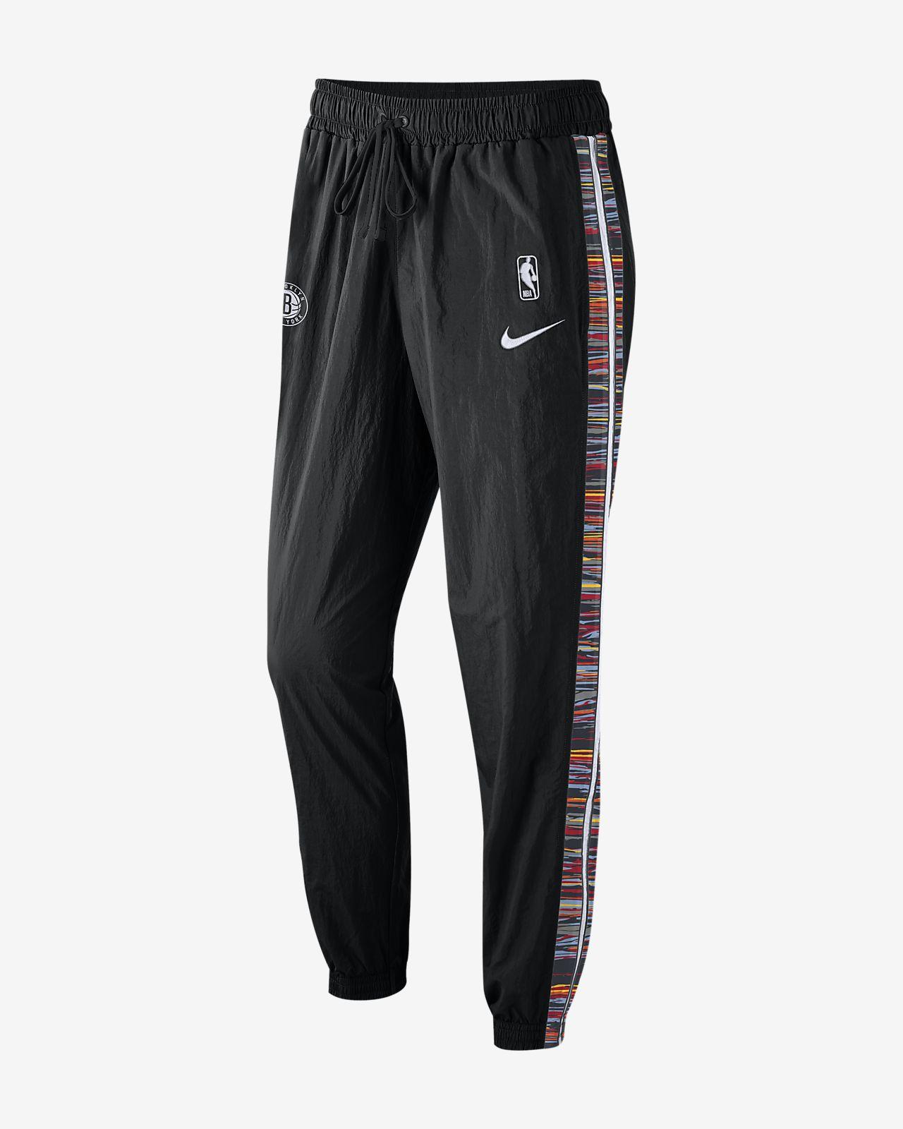 布鲁克林篮网队 Courtside City Edition Nike NBA 男子运动长裤