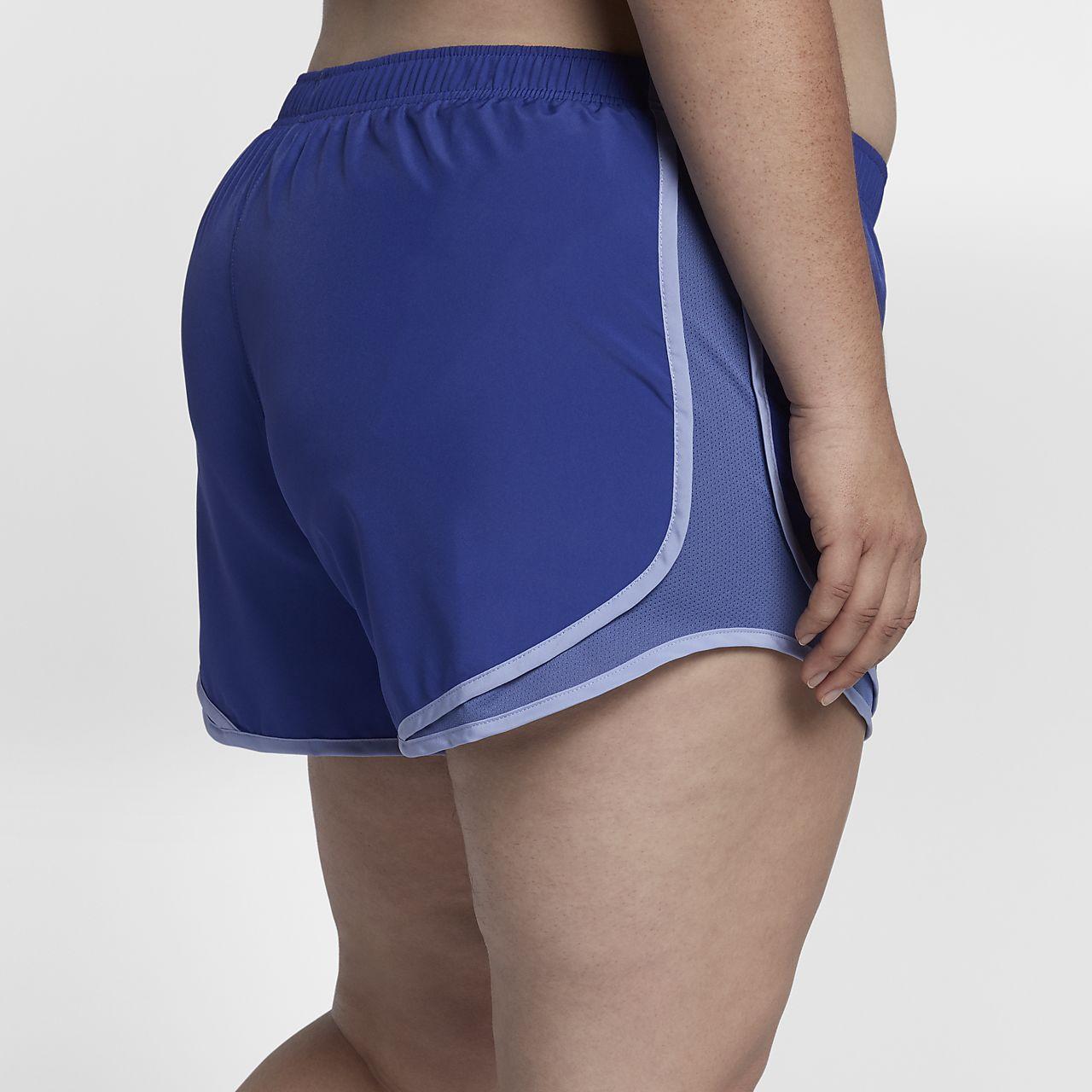 "nike tempo (plus size) women's 3"" running shorts. nike"