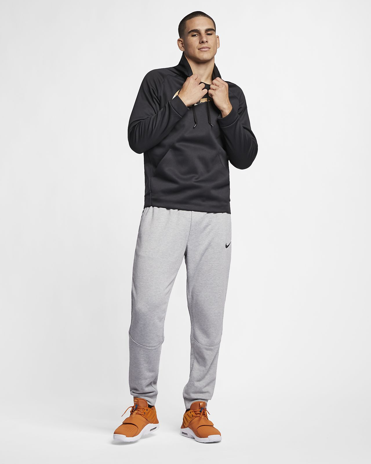 Nike Dri-FIT Pantalons de teixit Fleece cenyits d'entrenament - Home