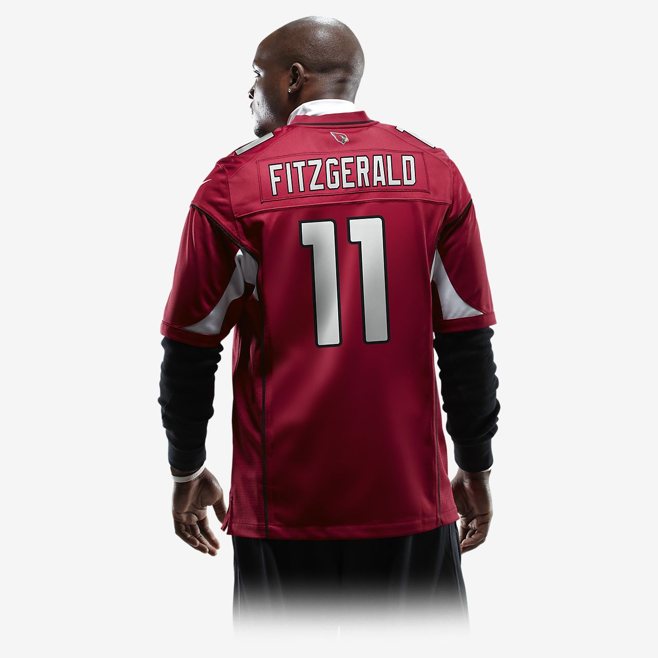 pretty nice f0b86 596fd NFL Arizona Cardinals (Larry Fitzgerald) American Football Herren-Trikot