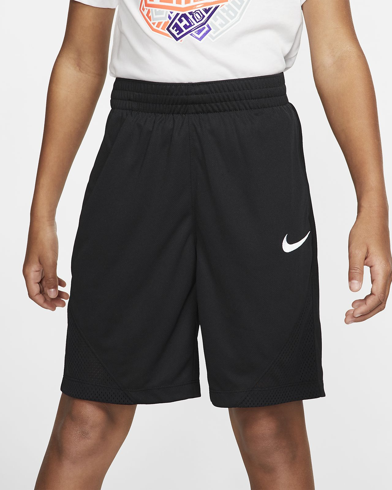 Αγορίστικο σορτς μπάσκετ Nike Dry
