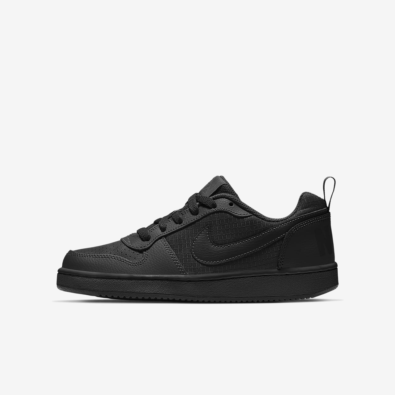 Calzado para niños talla grande Nike Court Borough Low c88c96e52bb