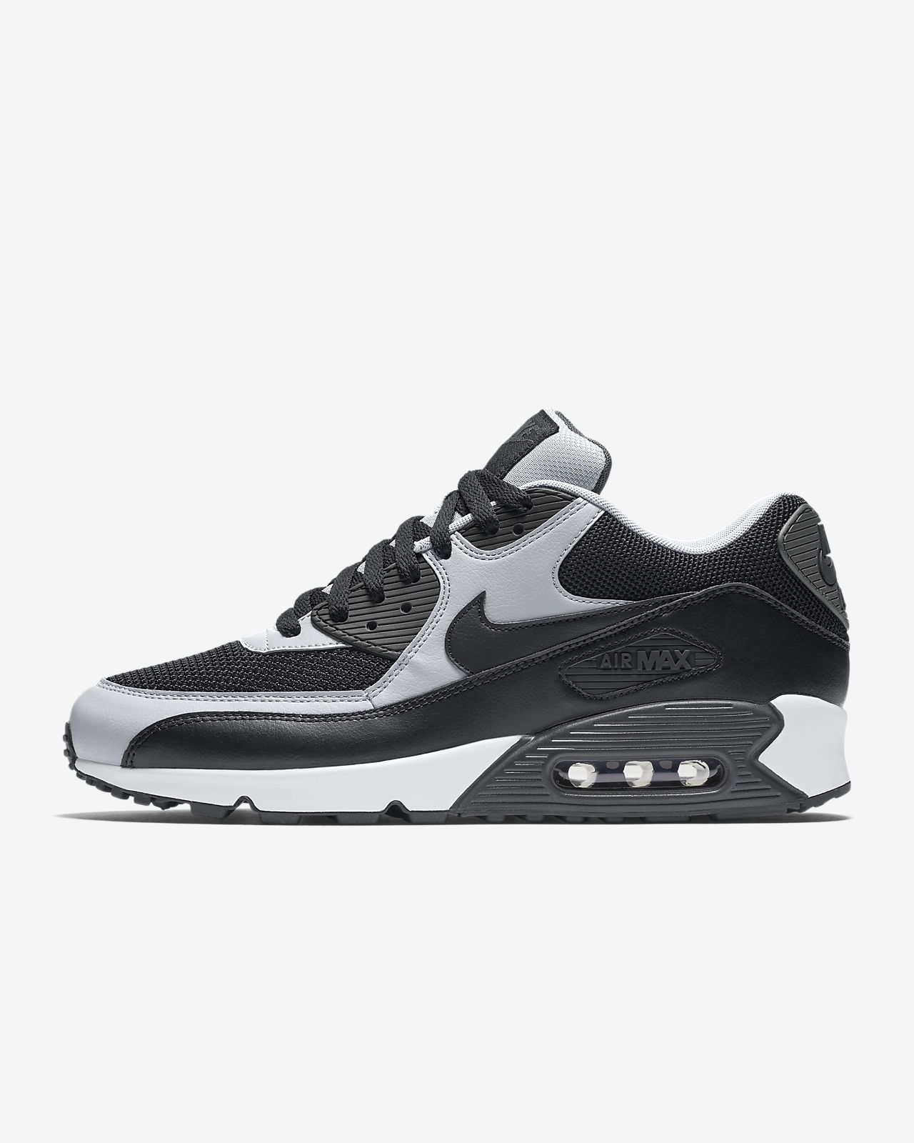 Nike Air Max 90 Essential men lifestyle sneakers NEW black