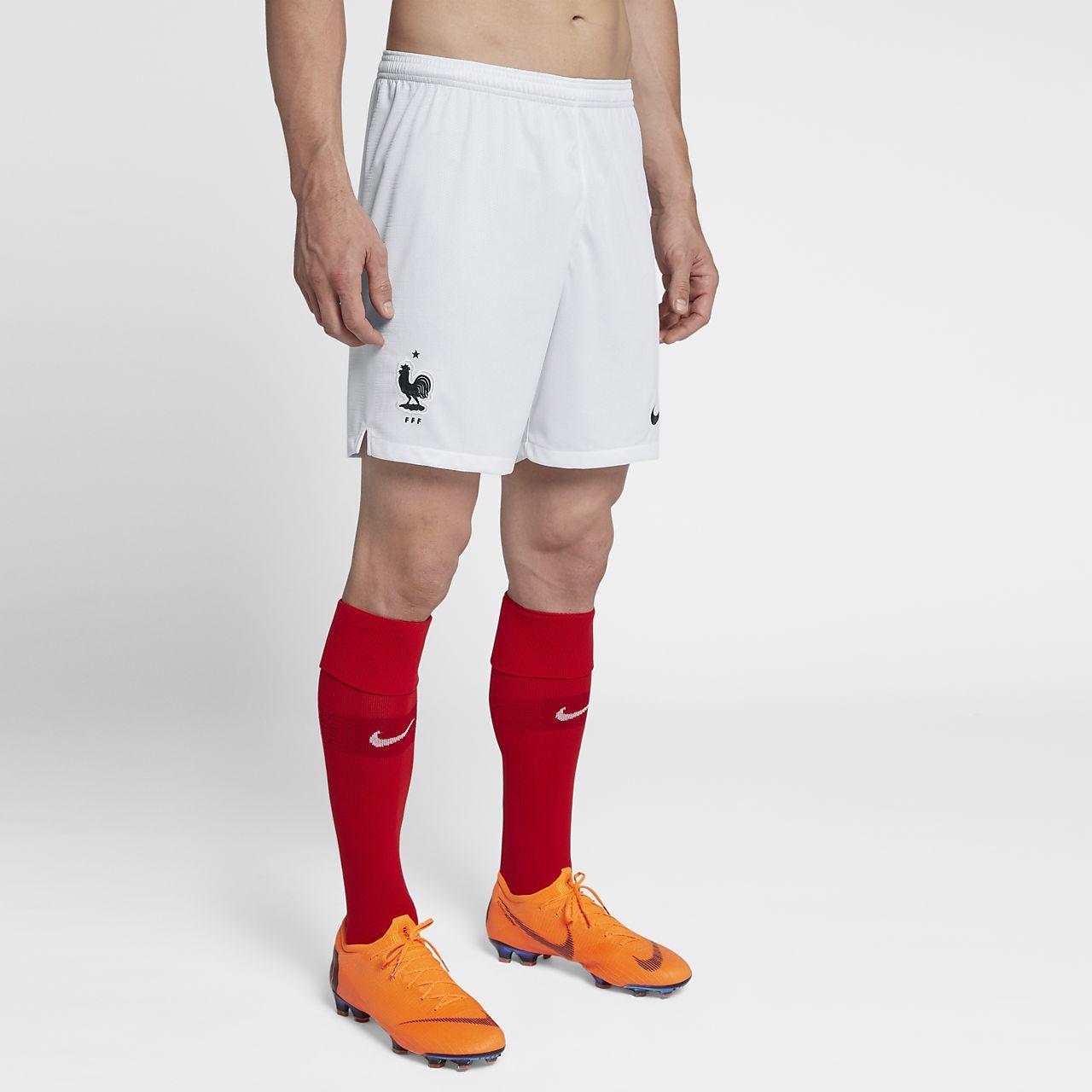 Shorts de fútbol para hombre 2018 FFF Stadium Home