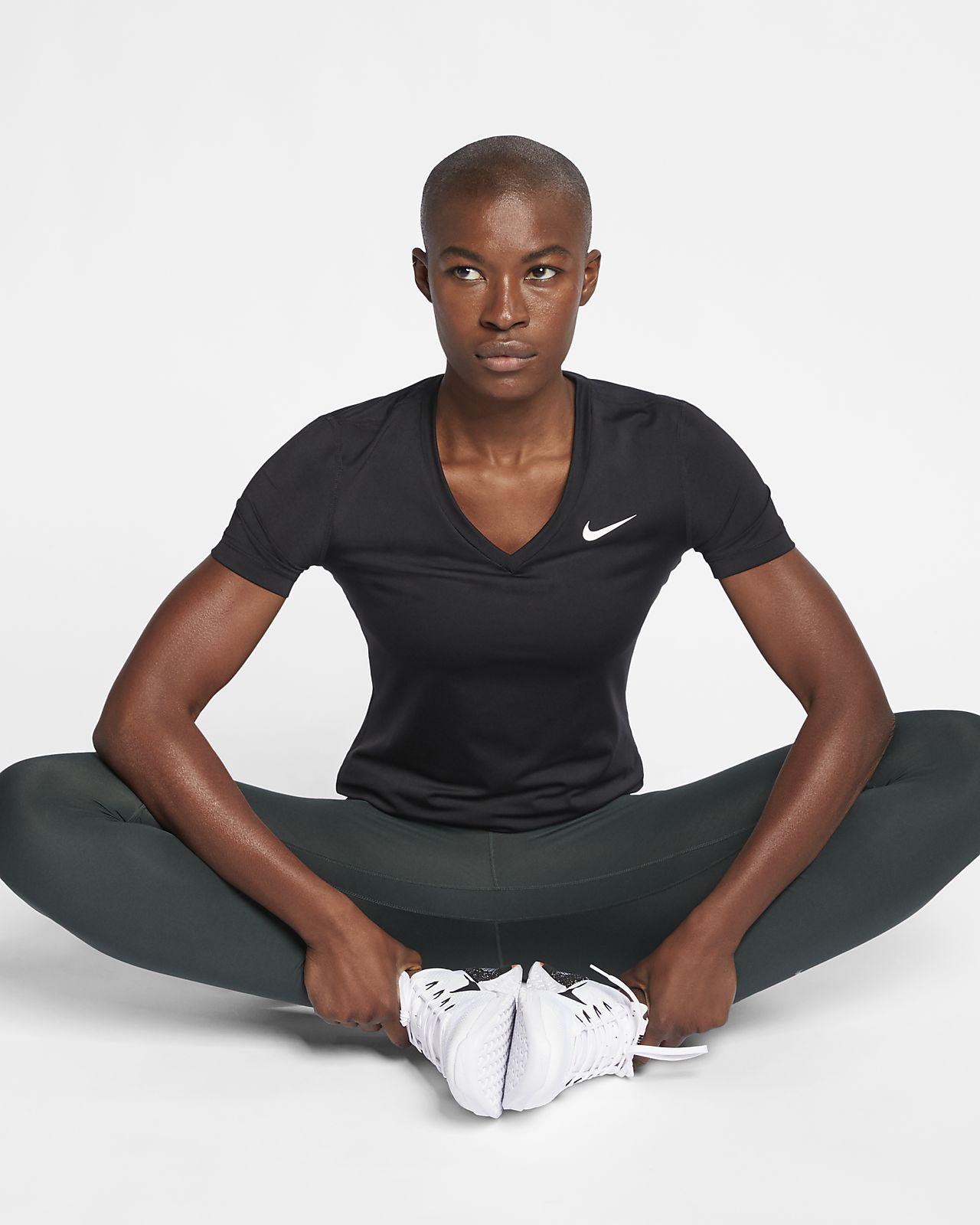 À Victory Dri Haut De Manches Femme Pour Training Nike Courtes Fit 8Nvynwm0O