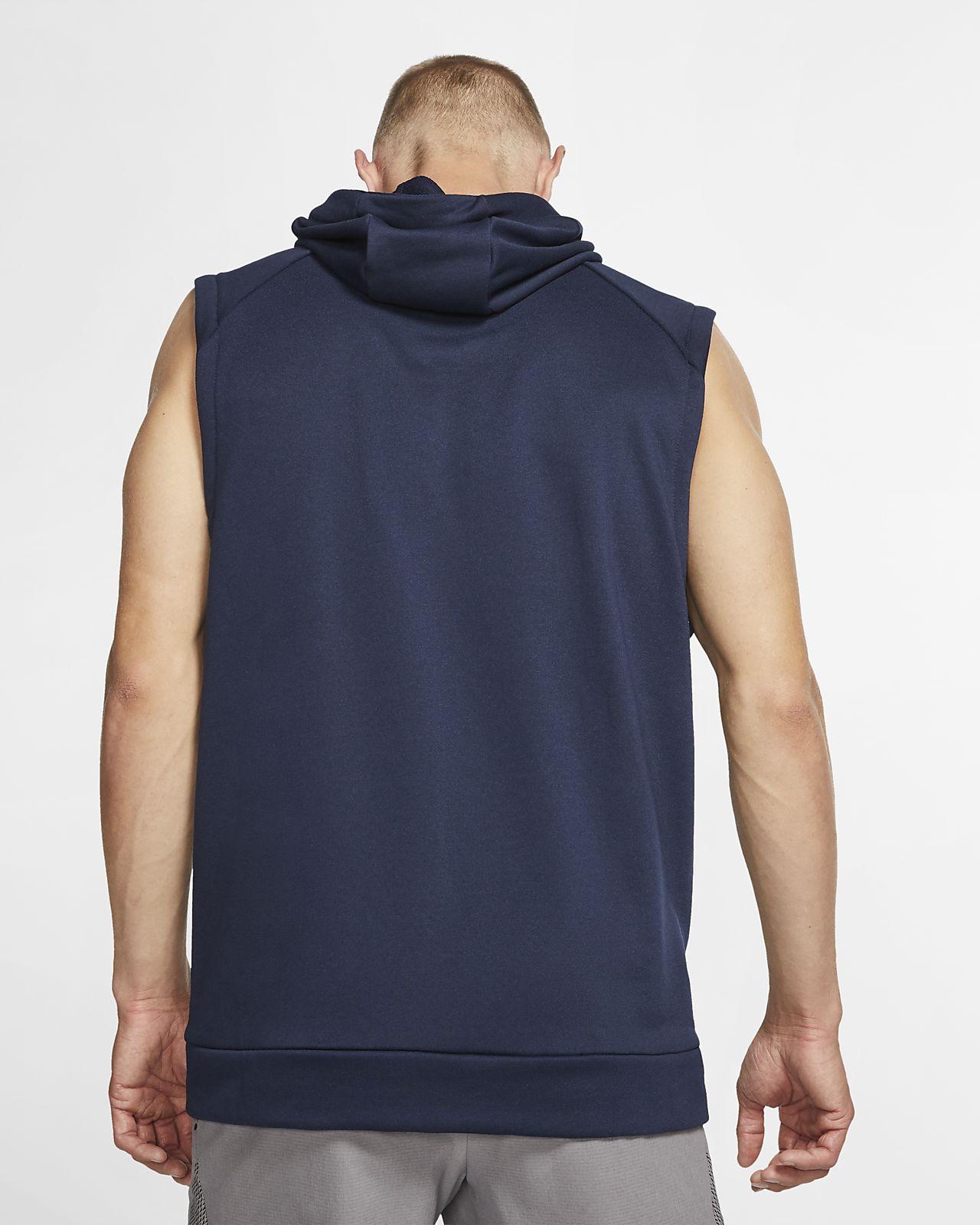 sneakers for cheap 27f84 154ee ... Sweat à capuche de training sans manches Nike Dri-FIT pour Homme