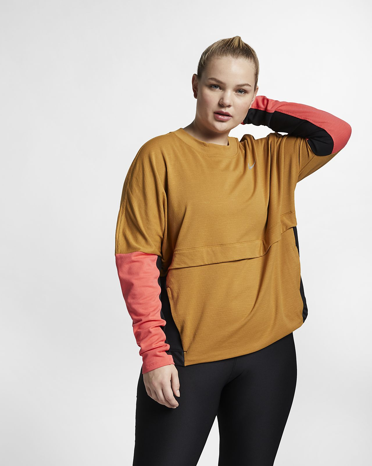 64eec877758 Nike Therma-Sphere Women s Running Top (Plus Size). Nike.com CA