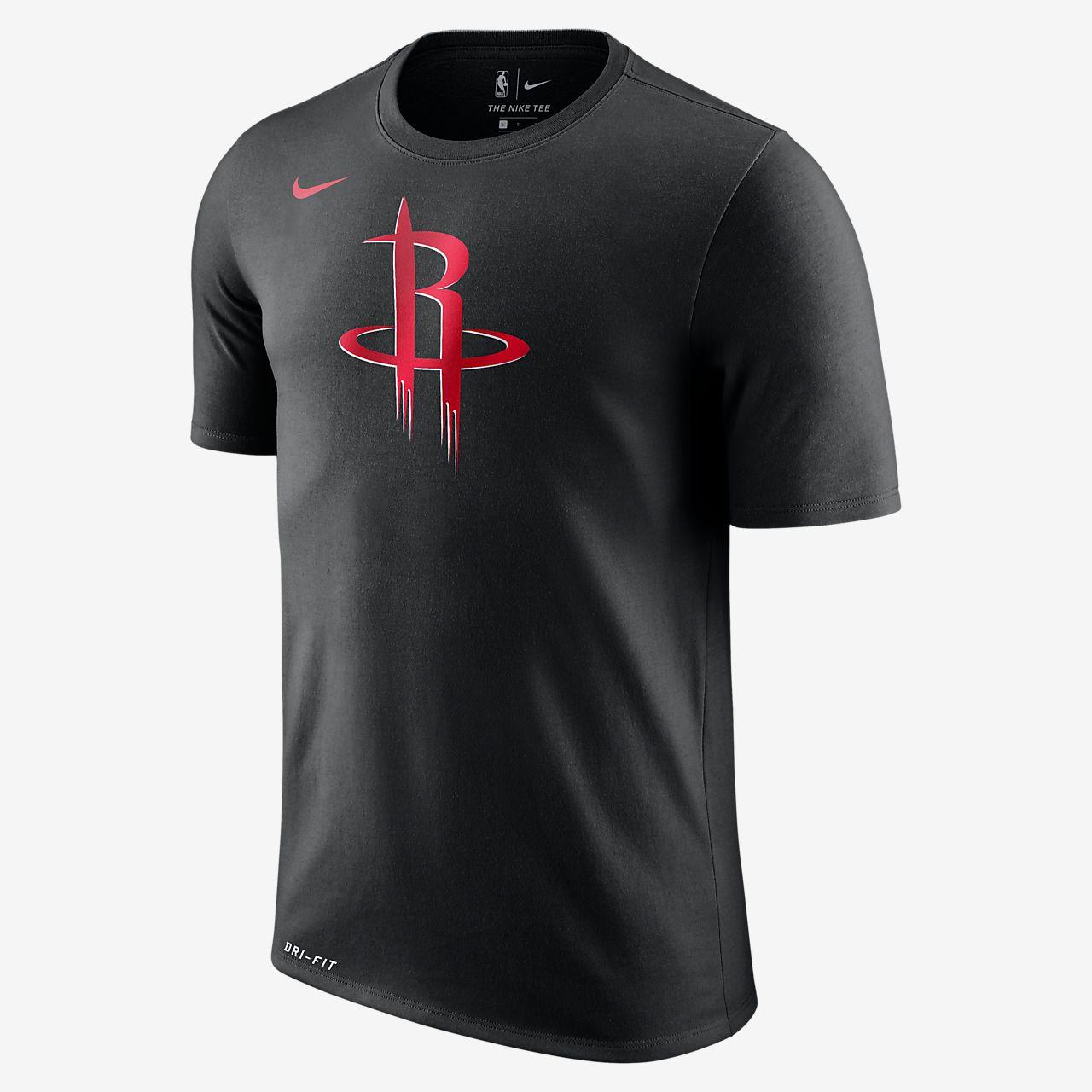 ... Houston Rockets Nike Dry Logo NBA-T-Shirt für Herren
