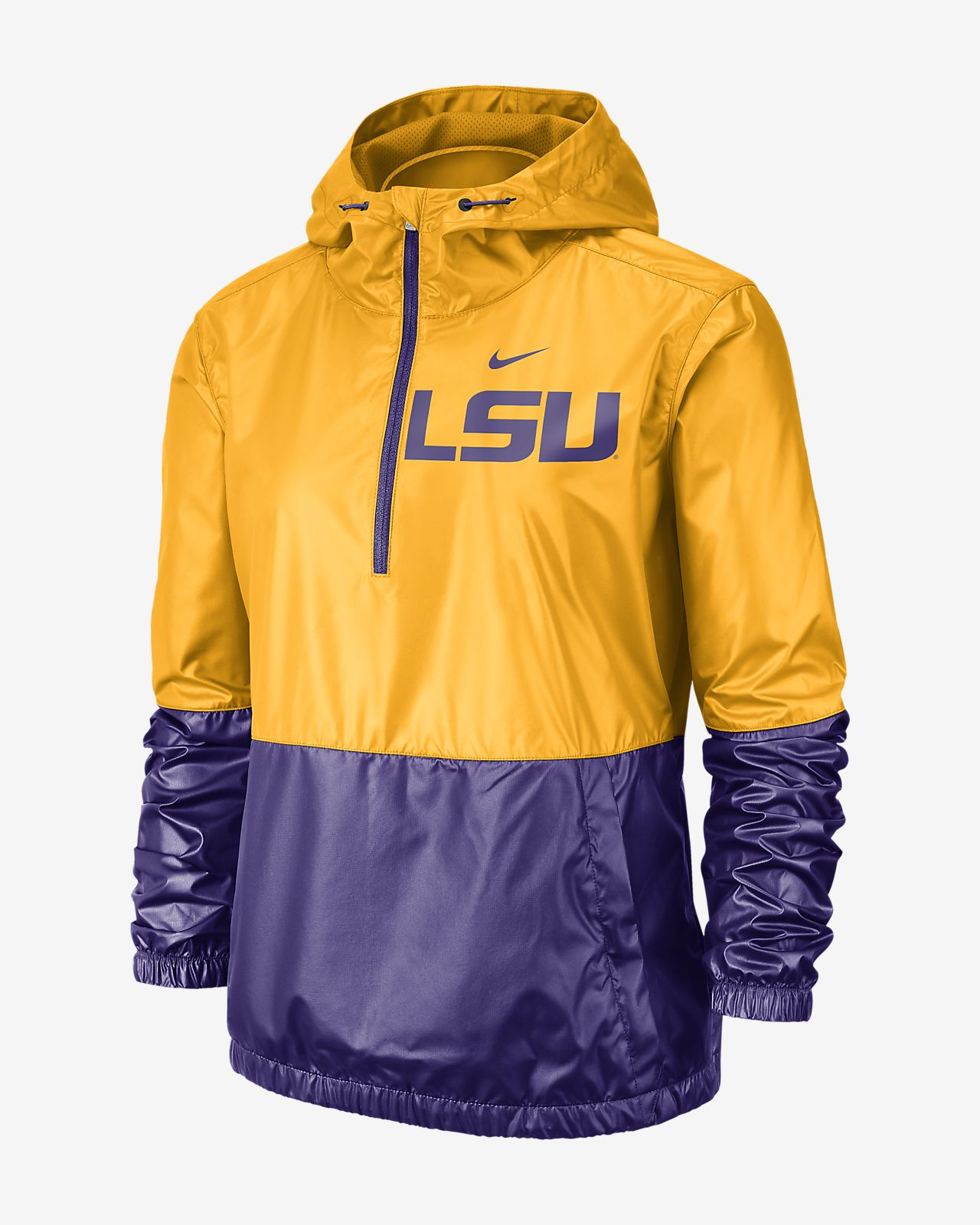 Nike College Anorak (LSU) Women's Jacket