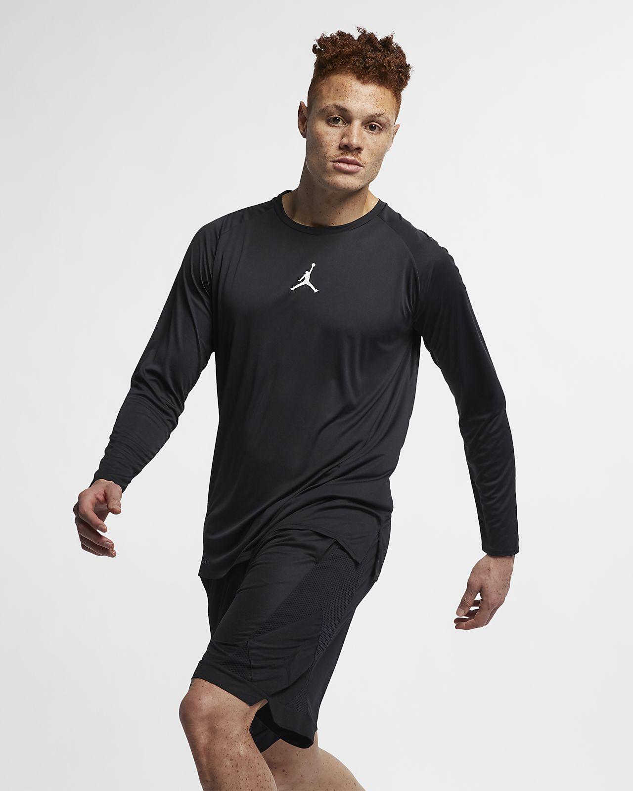Jordan 23 Alpha Fitted 男子长袖训练上衣